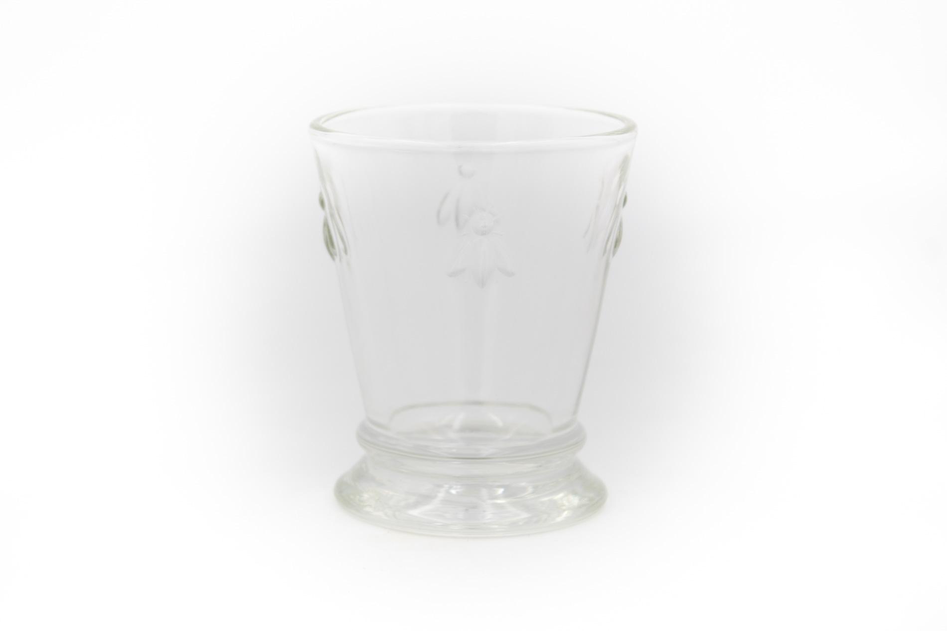 Wasserglas/ Trinkglas/ Whiskyglas, Biene, 0,26 l