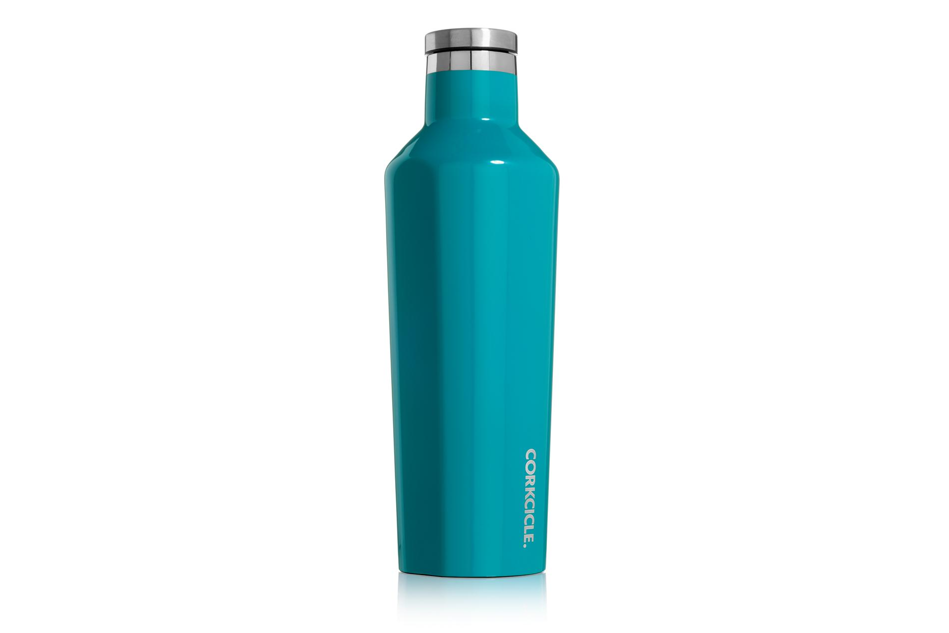 Corkcicle Trinkflasche / Thermo Isolierflasche Biscay Bay 475 ml Gloss