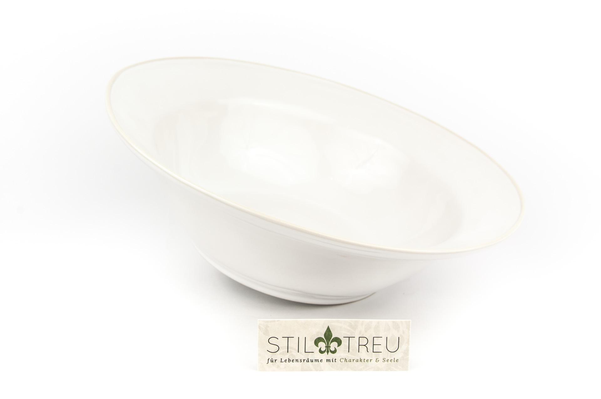 Salatschüssel Astoria, weiß, 30 cm