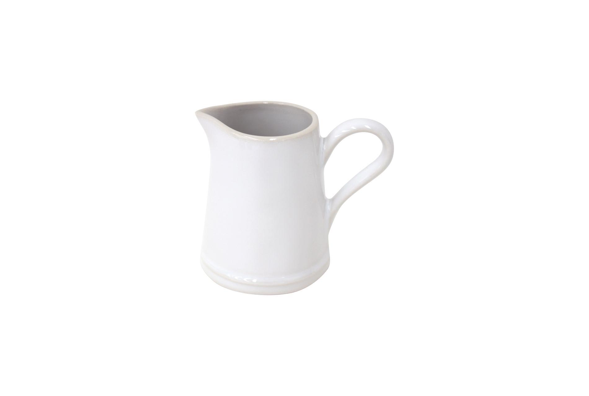 Milchgiesser/ Milchkännchen, Astoria, weiß