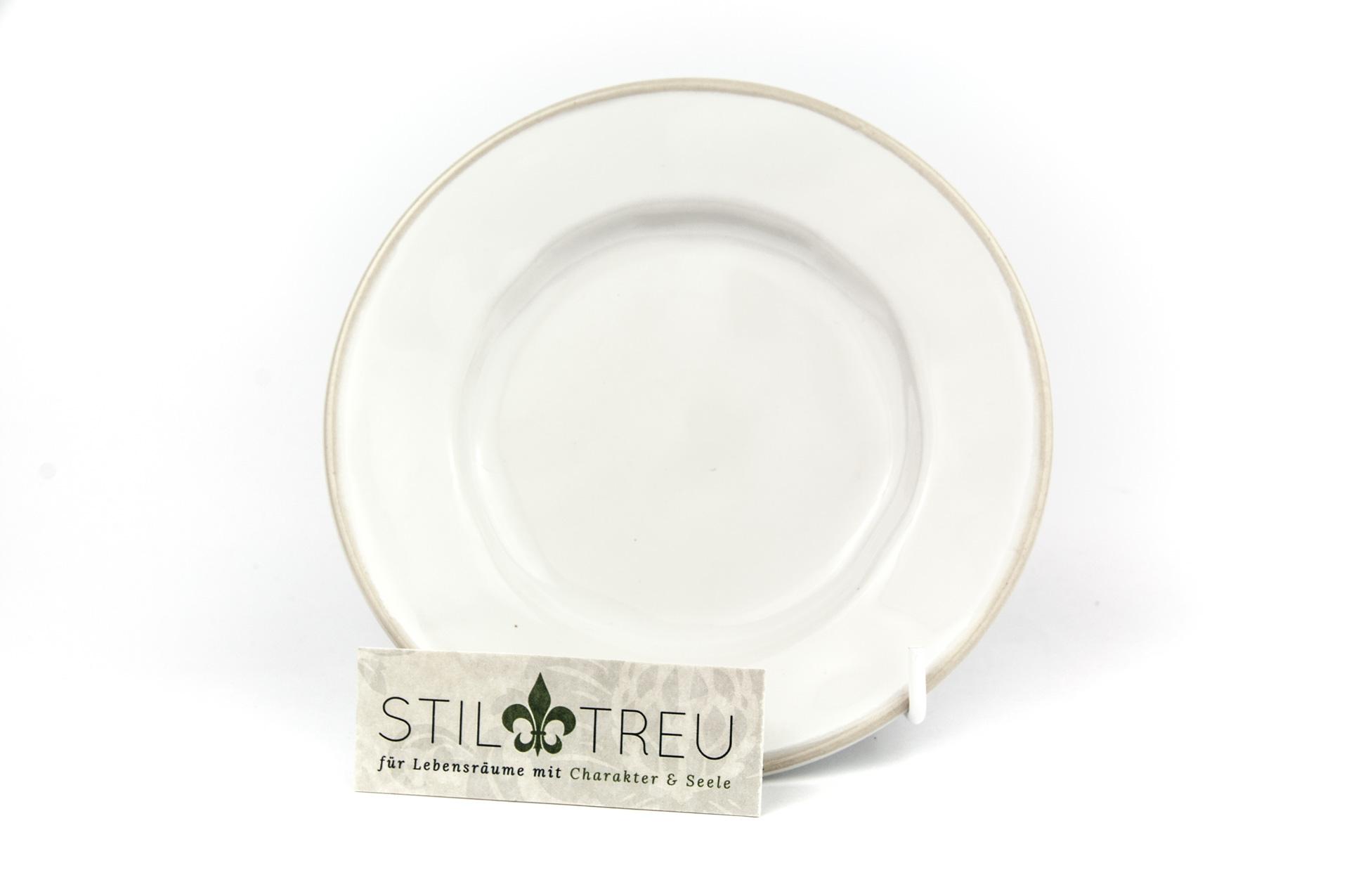 Brotteller Mini, Astoria, weiß, 15 cm