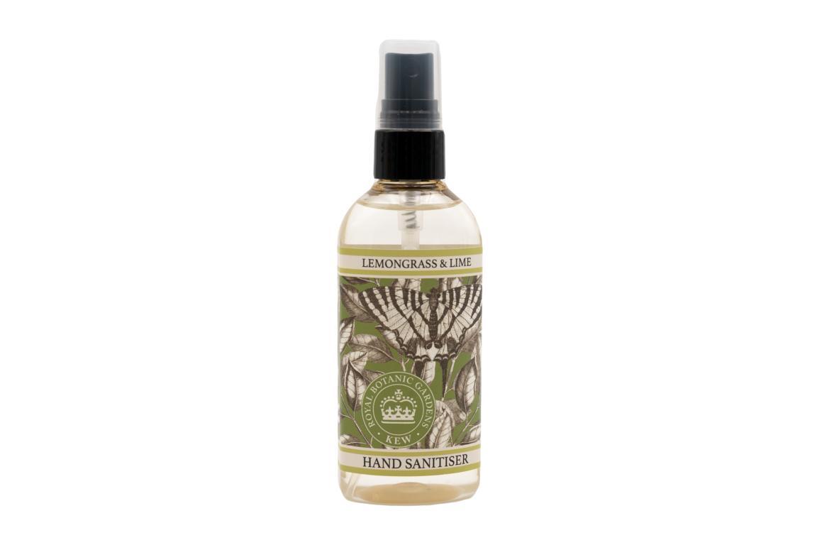 Kew Garden Desinfektionsspray für Hände, Zitronengras & Limette, 100 ml