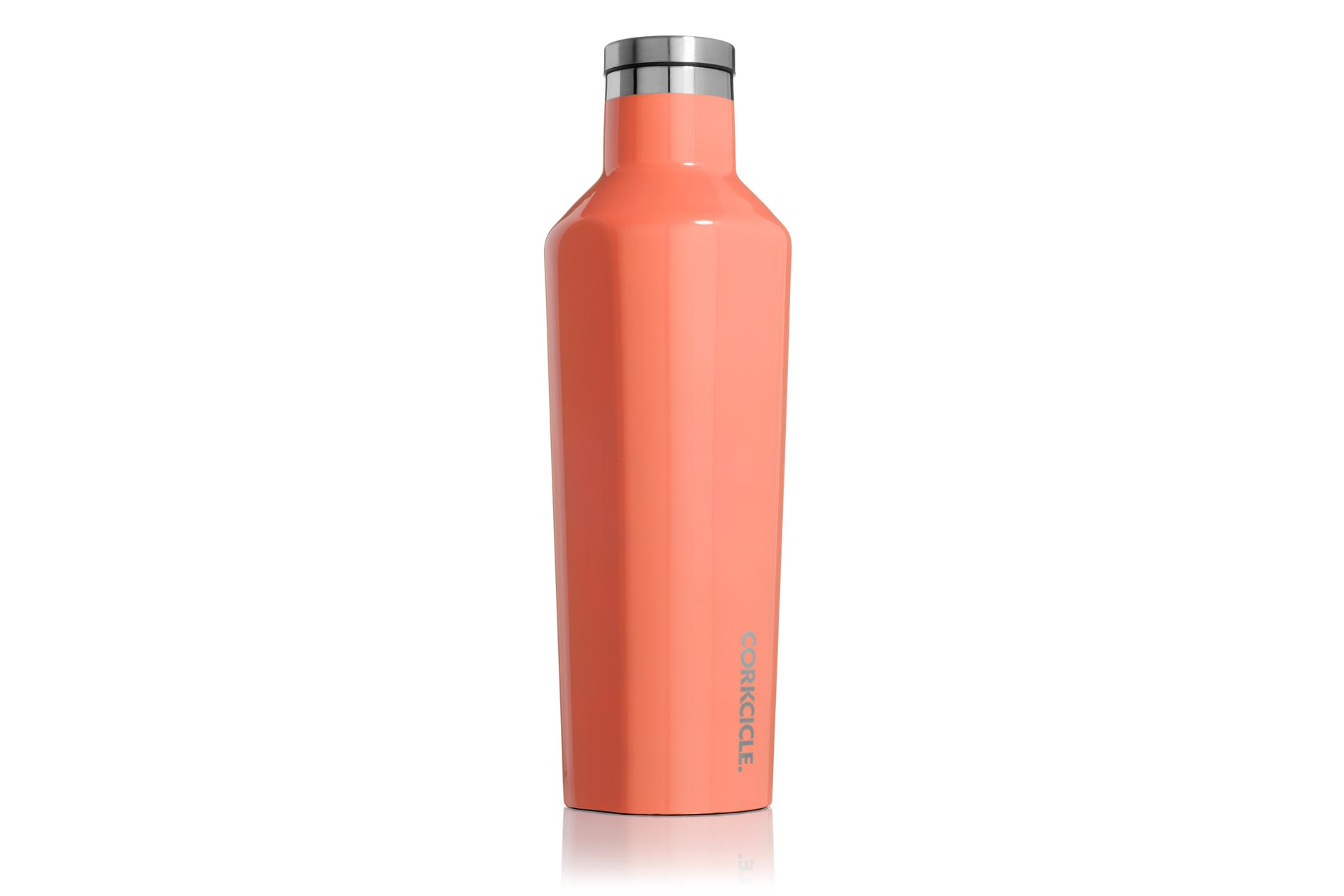 Corkcicle Trinkflasche / Thermo Isolierflasche Gloss Peach Echo 475 ml Gloss