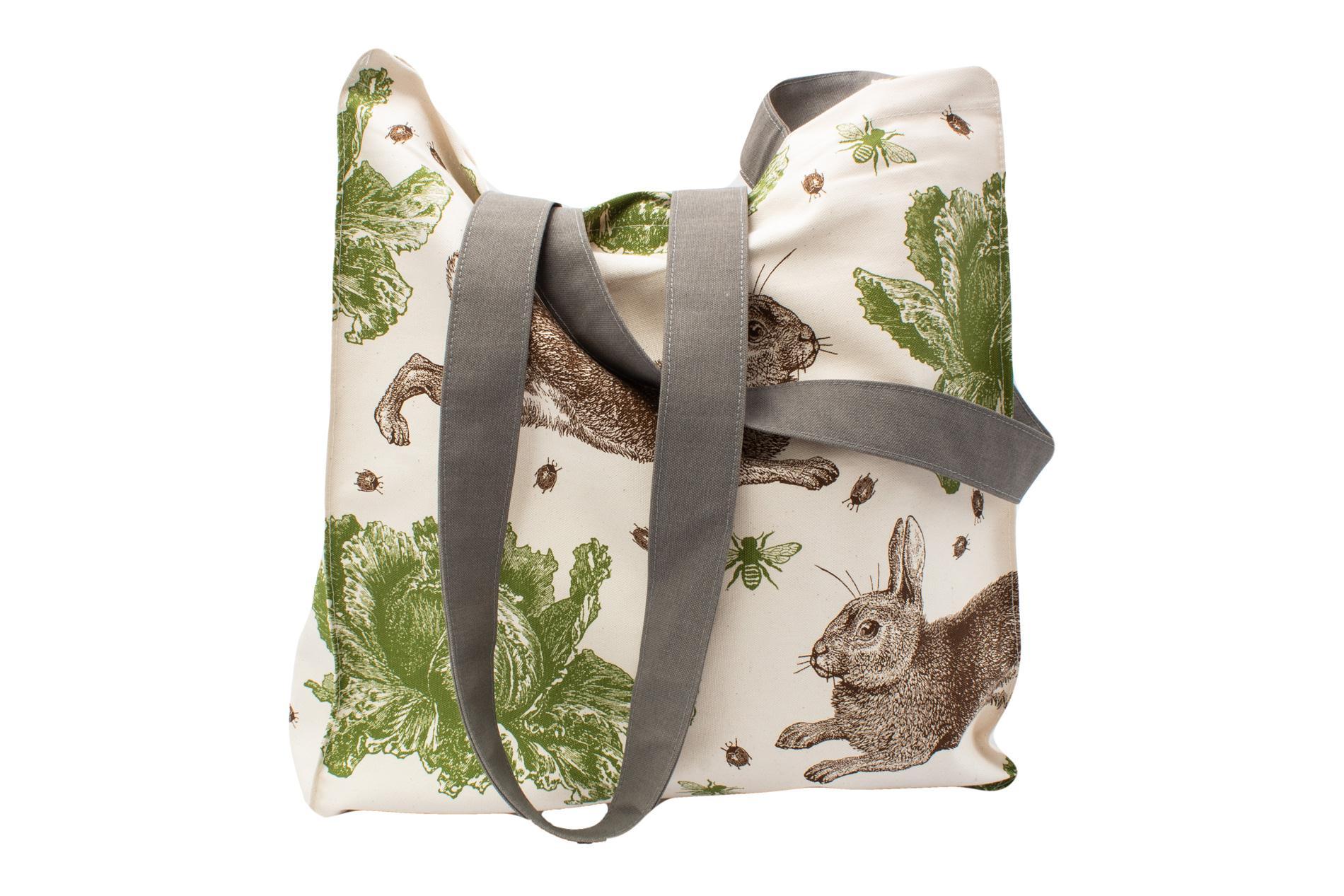 Tasche Hase mit Kohlkopf 43x37 cm
