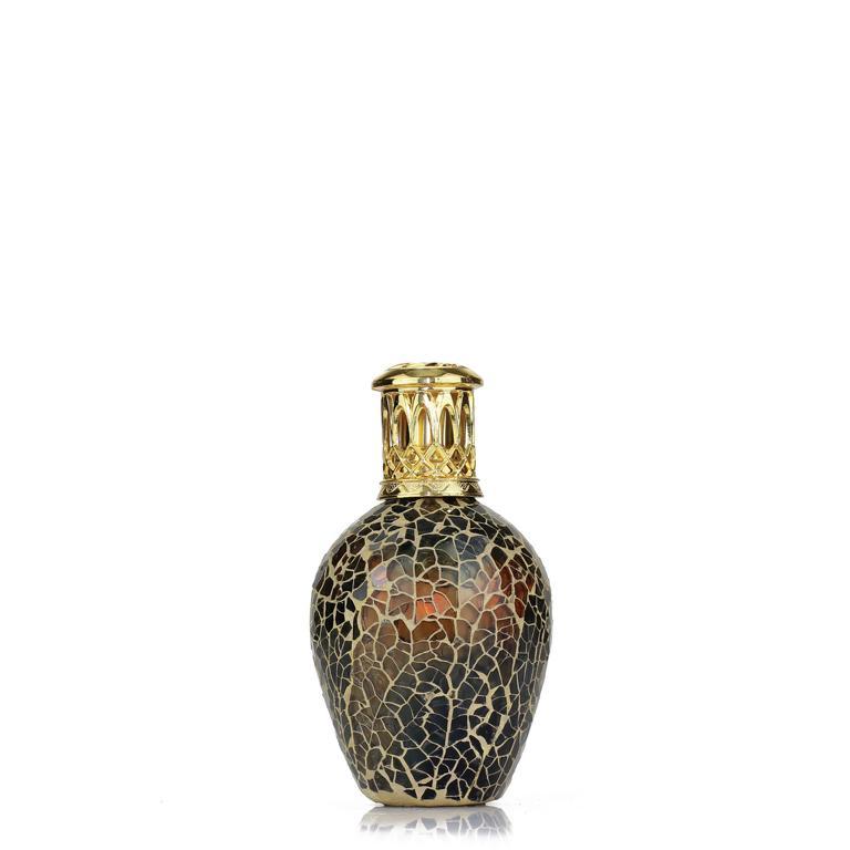 ASHLEIGH & BURWOOD Duftlampe, Mosaik Golden Chestnut, braun/grün, ohne Raumduft, katalytische Raumbeduftung