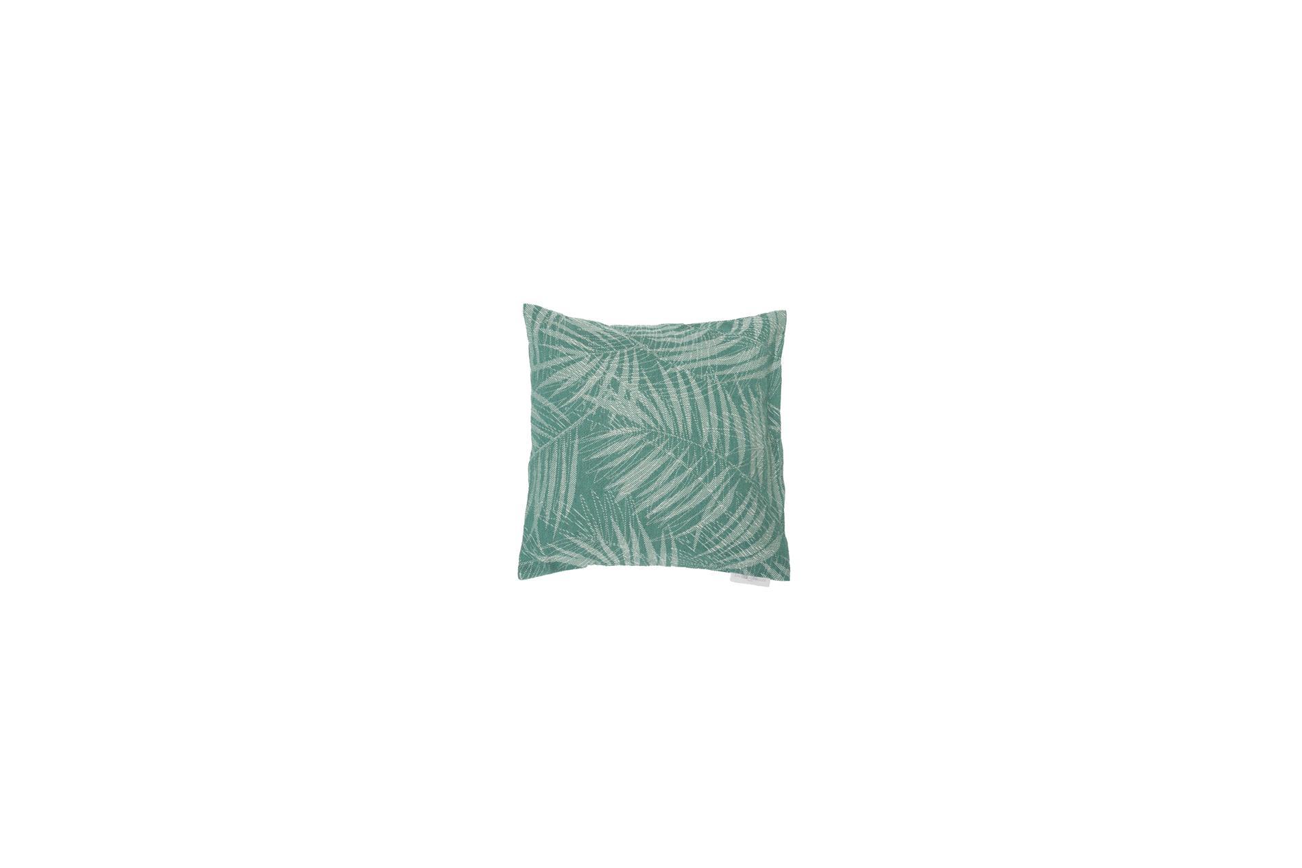 """DAVID FUSSENEGGER Kissenhülle Como, """"Dschungel"""", grün, 40x40 cm"""