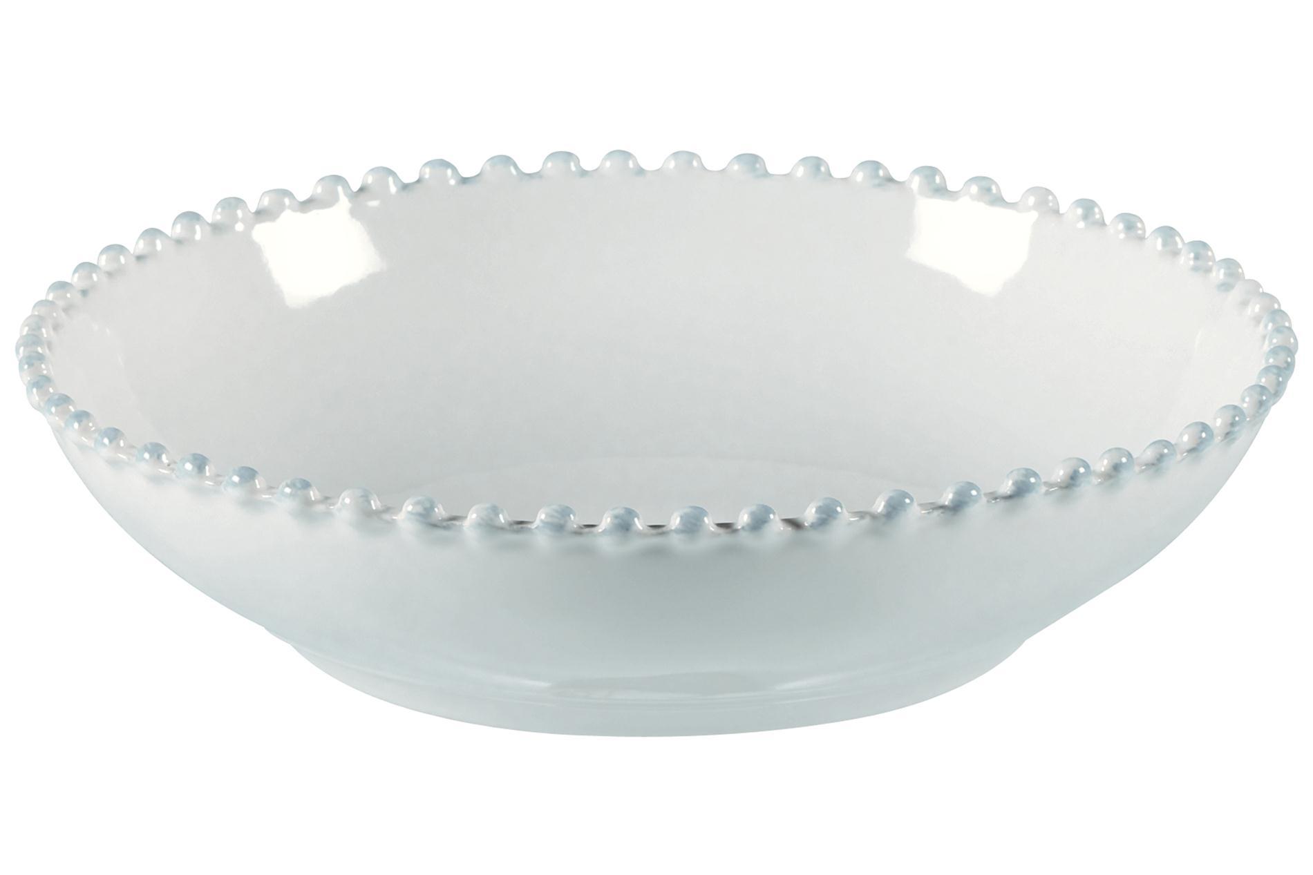 Pastateller Pearl weiß, 23 cm