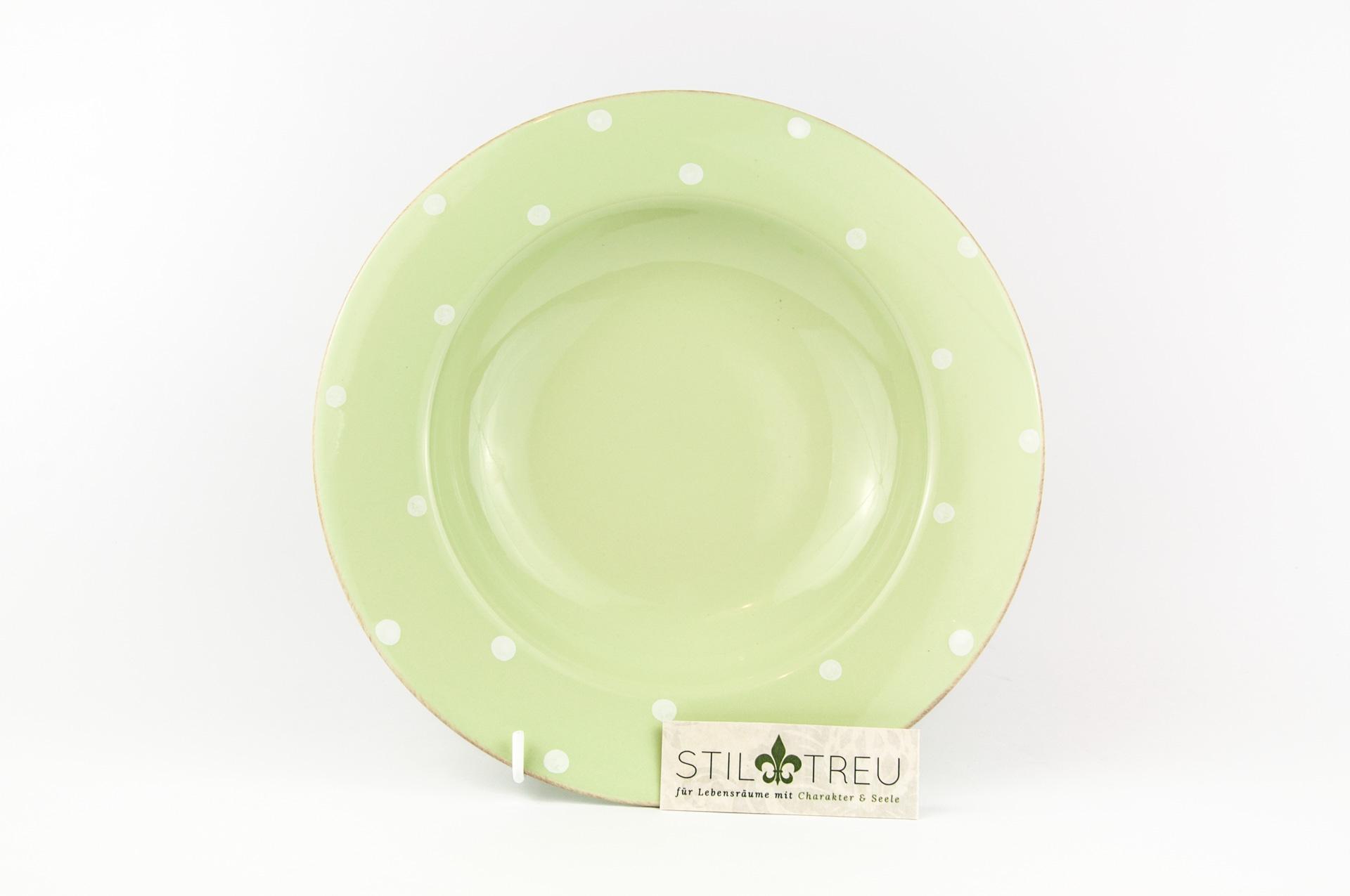 Suppenteller / PastaTeller  Chitra, grün, 25 cm