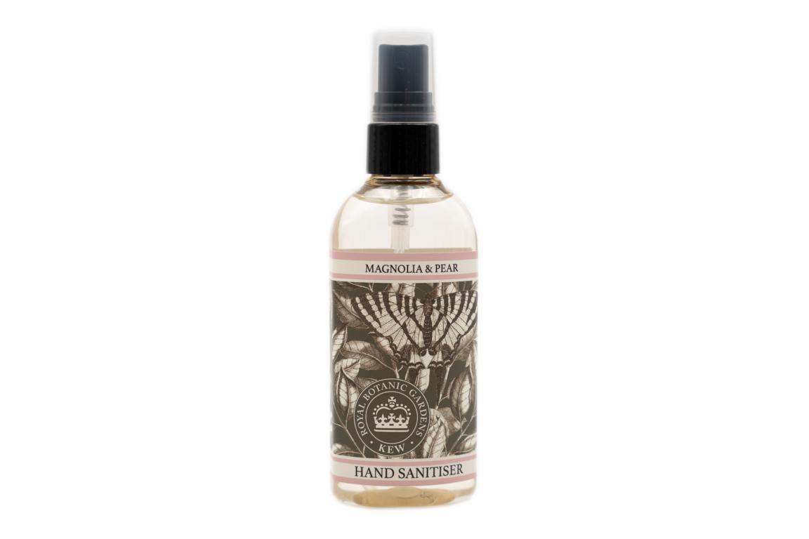 Kew Garden Desinfektionsspray für Hände, Magnolie & Birne, 100 ml