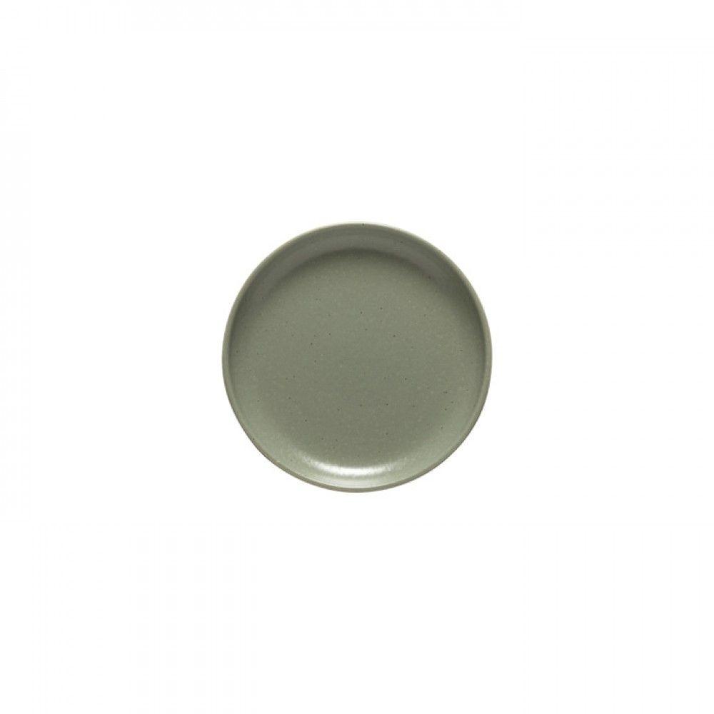 Casafina Pacifica Brotteller, grau grün/artischocke, D 16cm