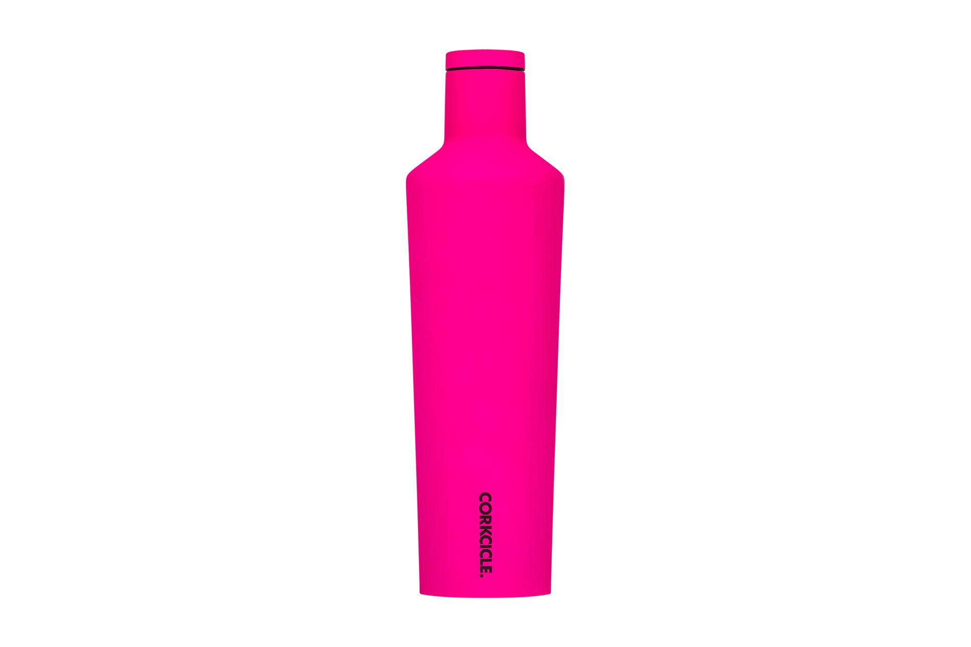 Corkcicle Trinkflasche / Thermo Isolierflasche Pink 475 ml Neon