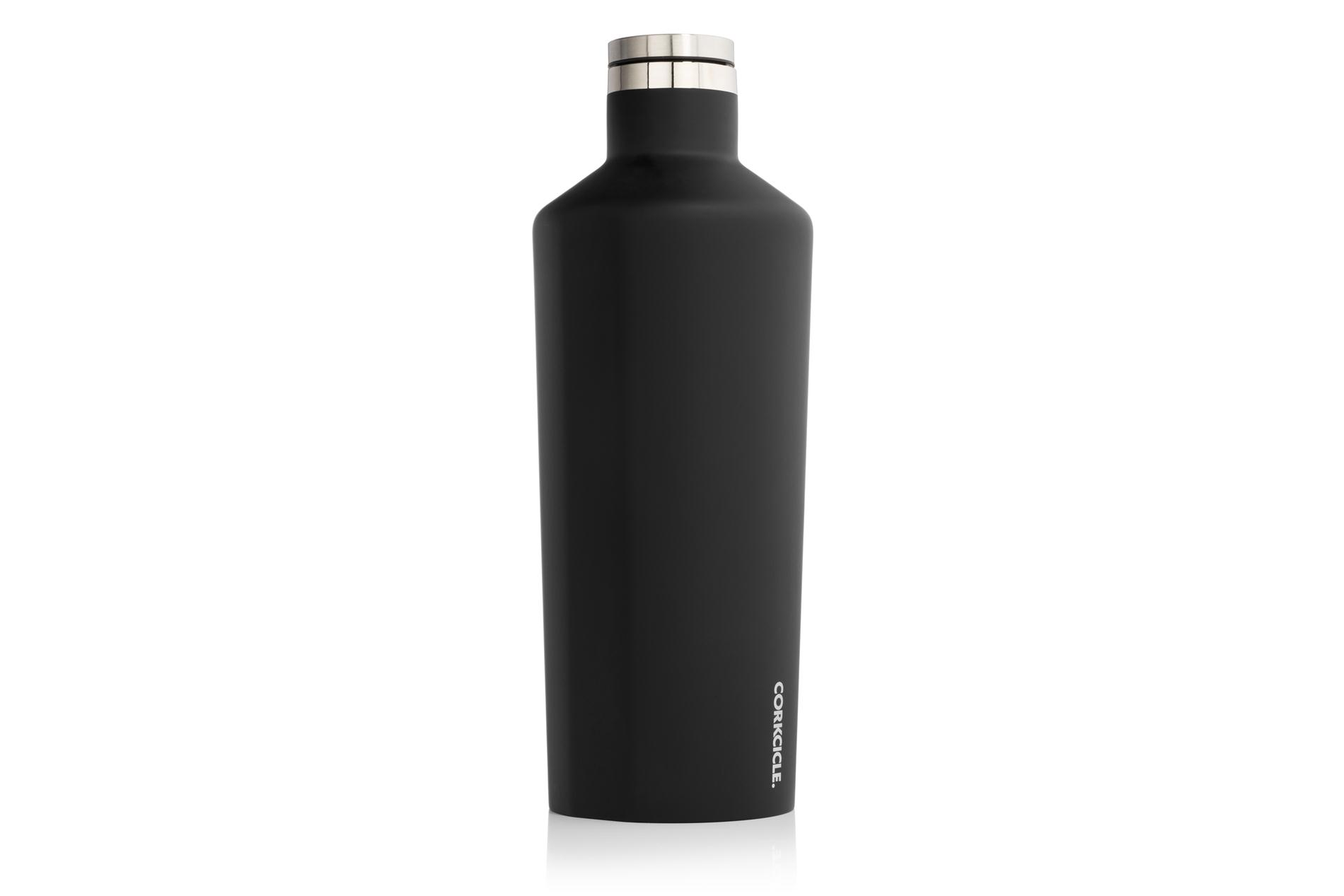 Corkcicle Trinkflasche / Thermo Isolierflasche Matte Black 1775 ml Classic