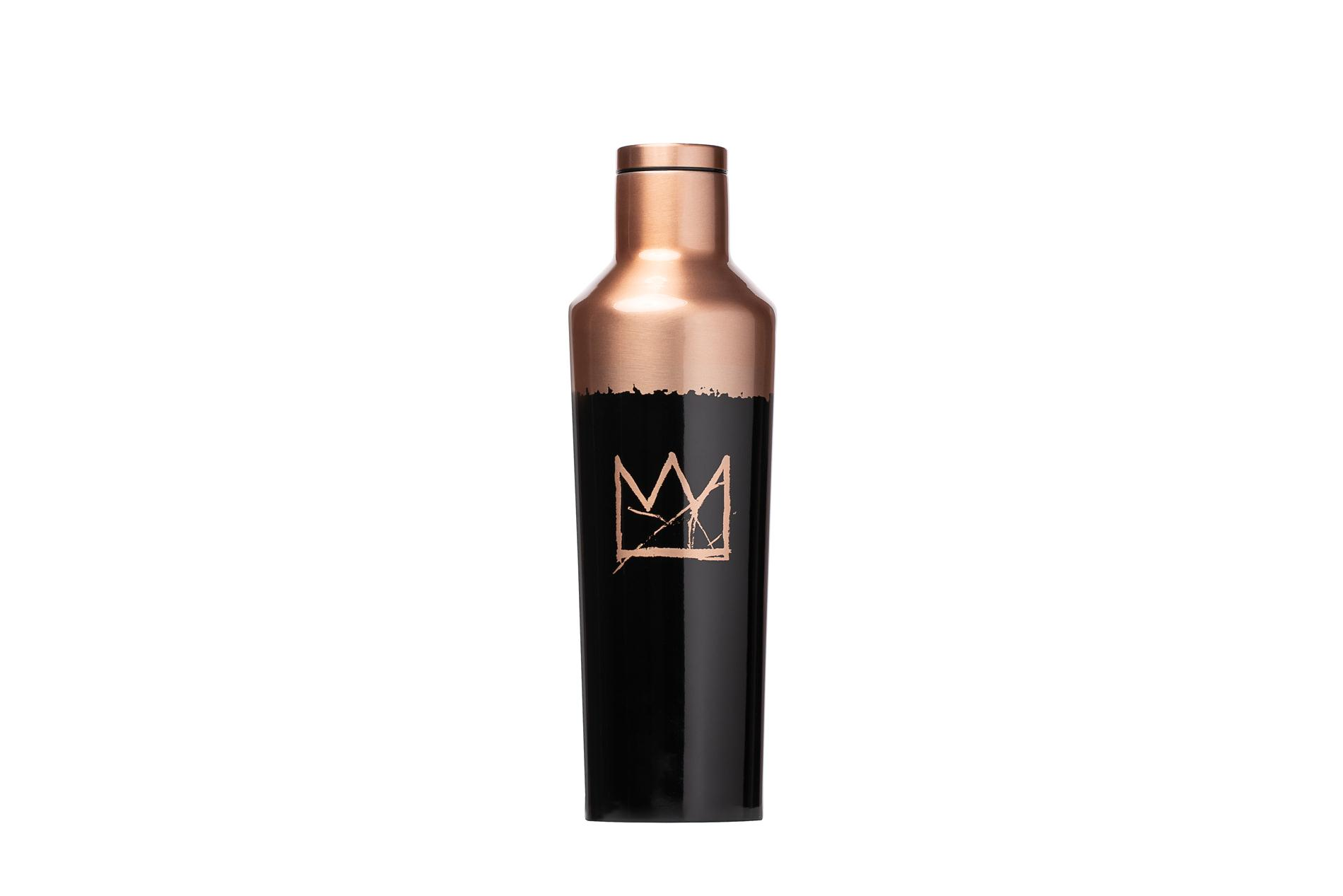 Corkcicle Trinkflasche / Thermo Isolierflasche Crown 475 ml Basquiat