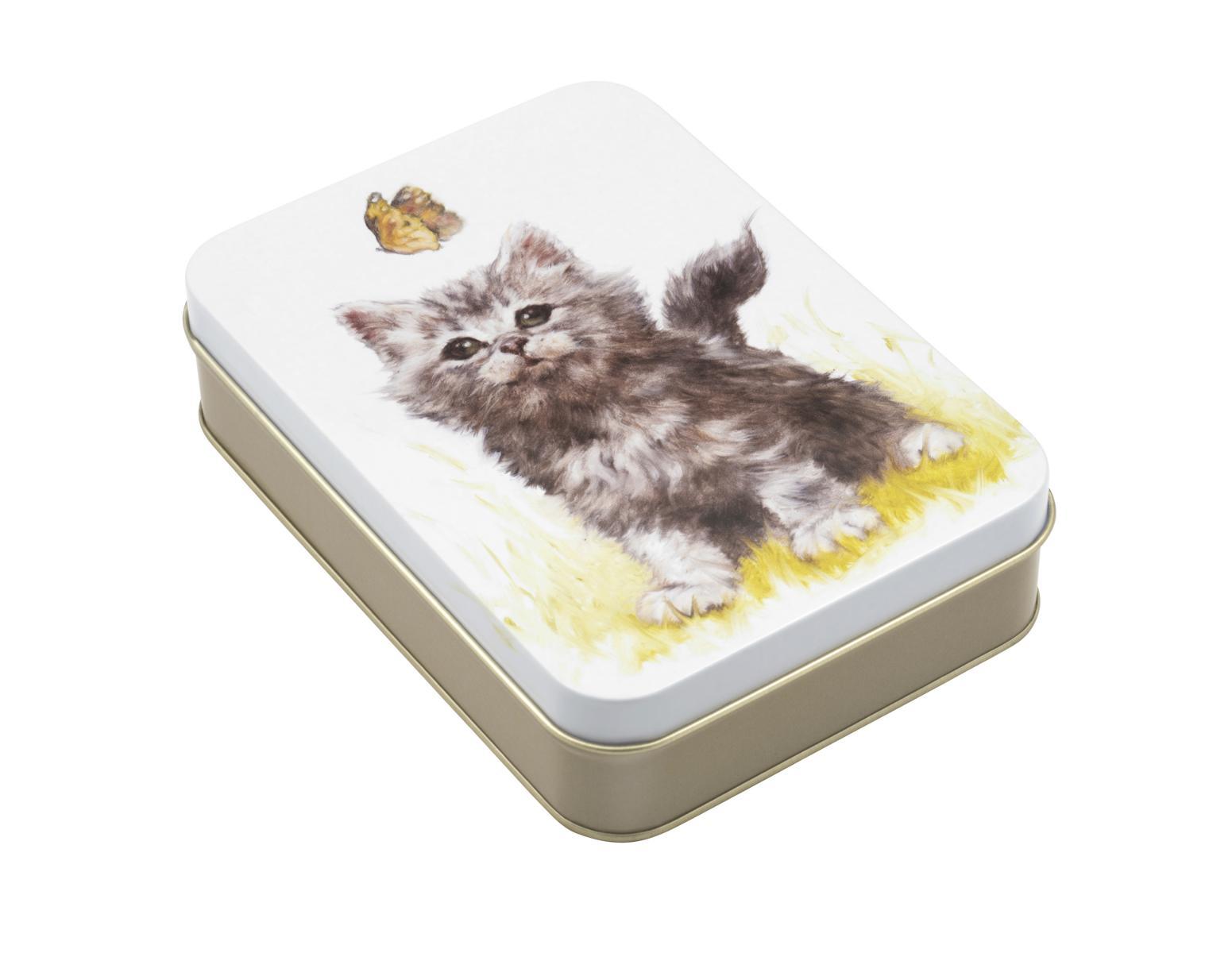 JO STOCKDALE Vorratsdose Motiv Katze 14,5 x 10,5 cm