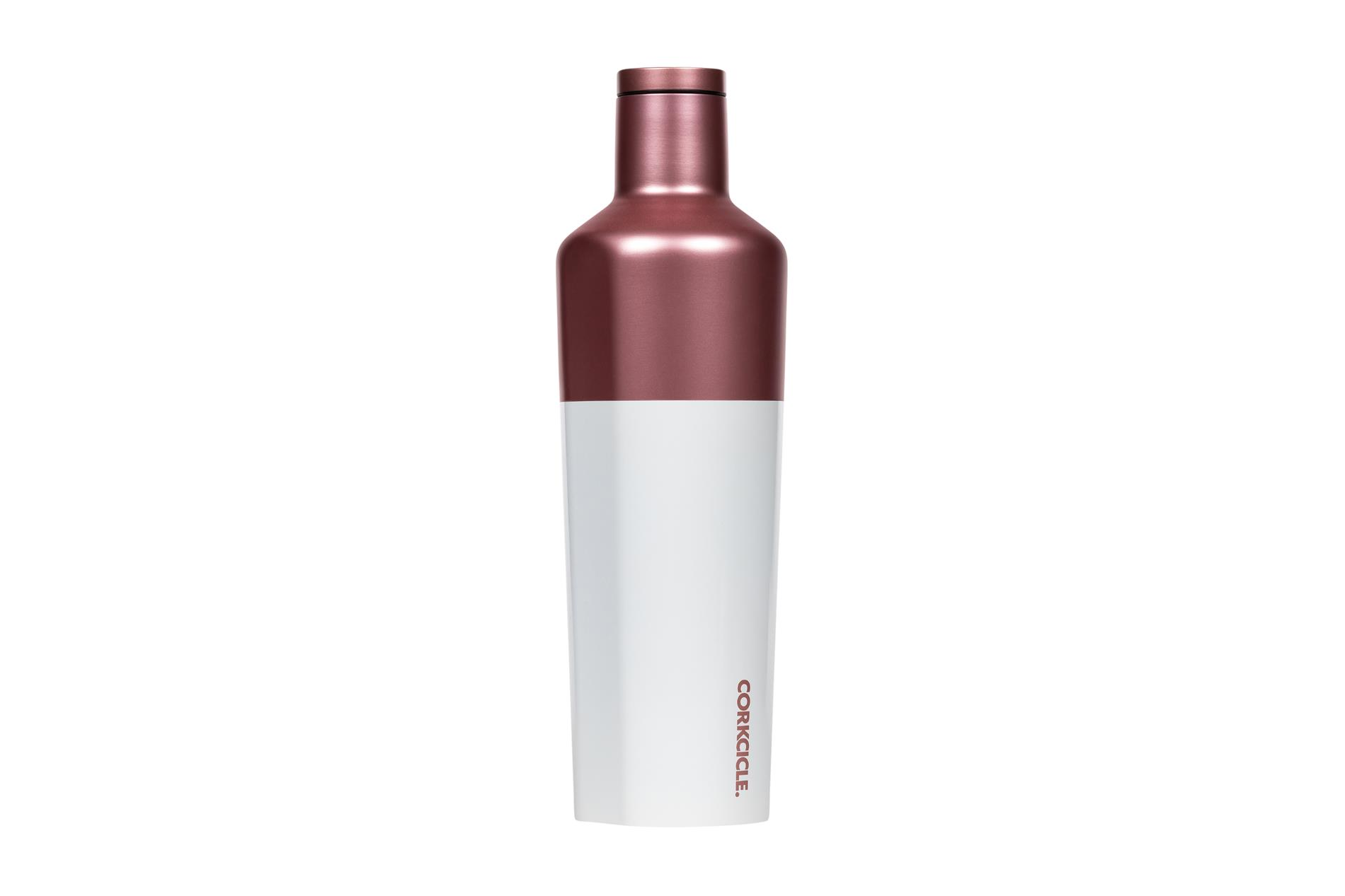 Corkcicle Trinkflasche / Thermo Isolierflasche Rosé 475 ml Color Block