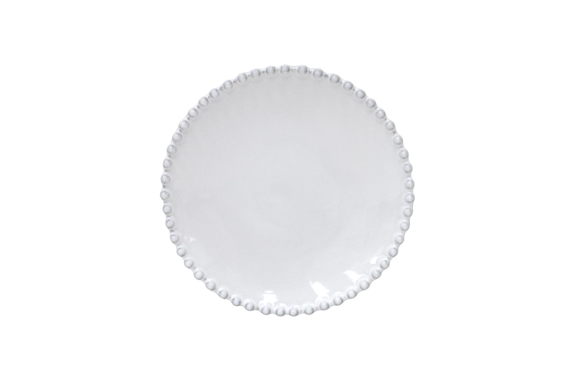 Brotteller Pearl  weiß,18 cm