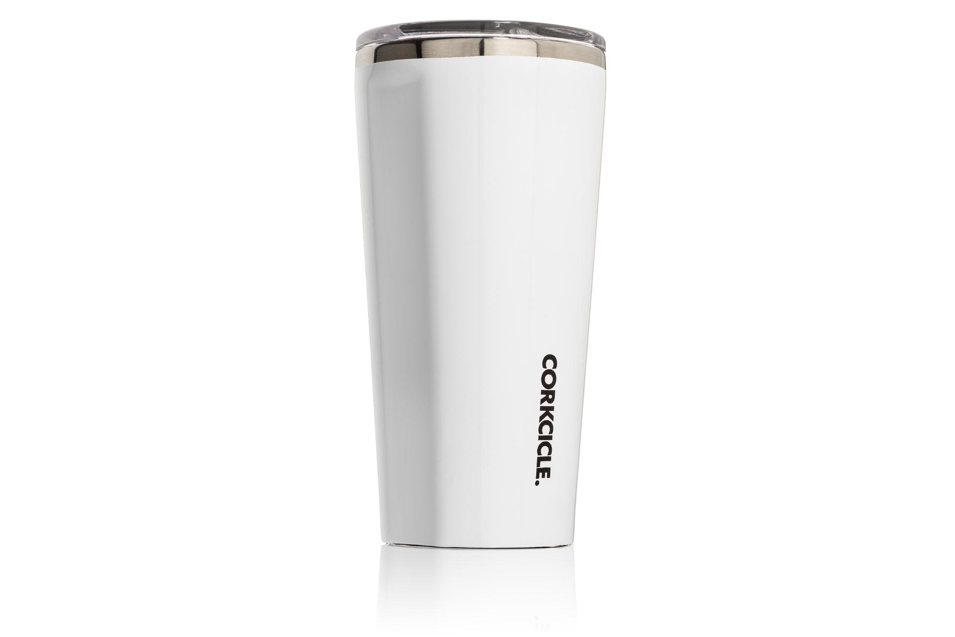 Corkcicle Becher / Thermo Isolierbecher Gloss White 475 ml Gloss