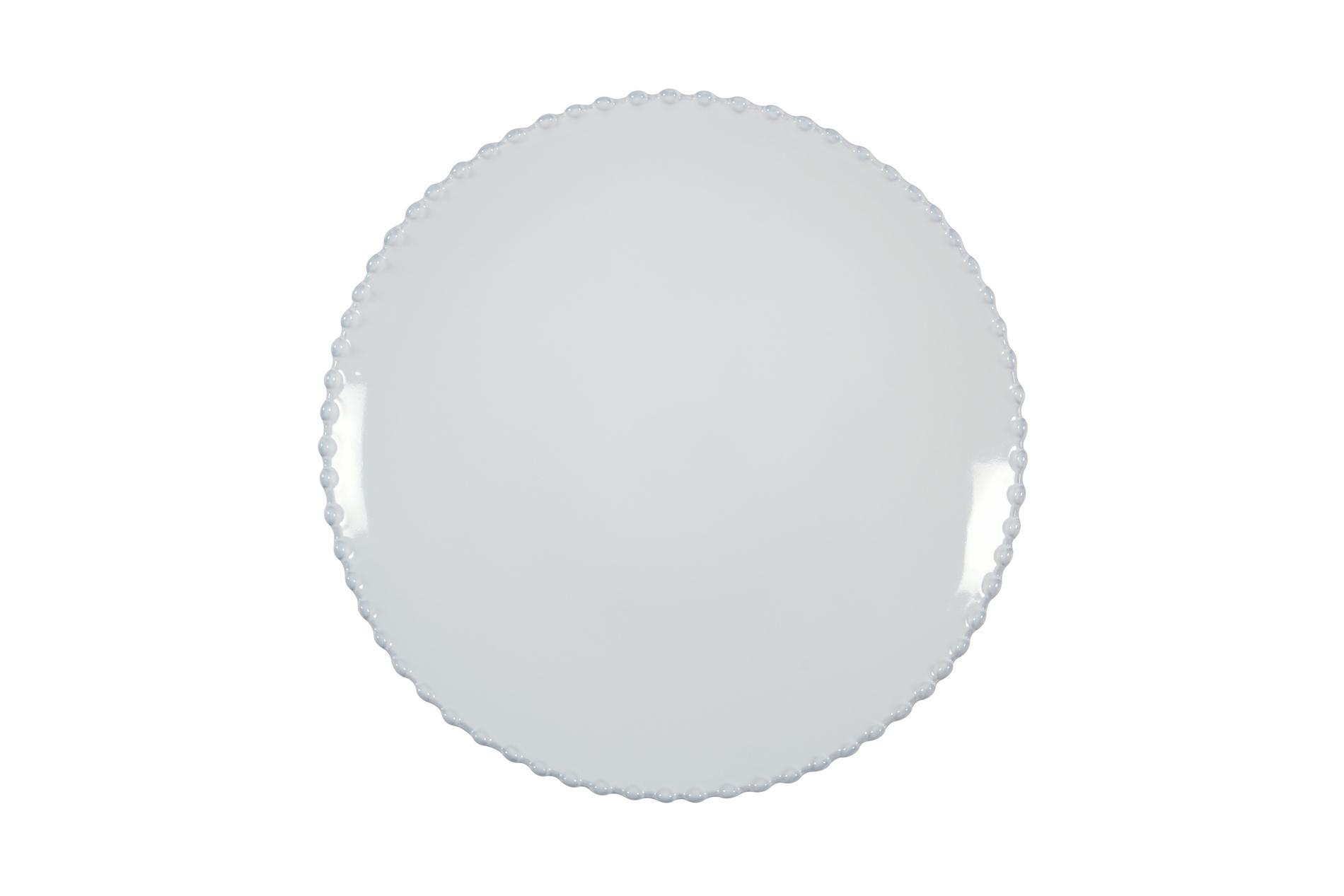 Kuchenteller / Dessertteller  / Salatteller Pearl, weiß, 22 cm