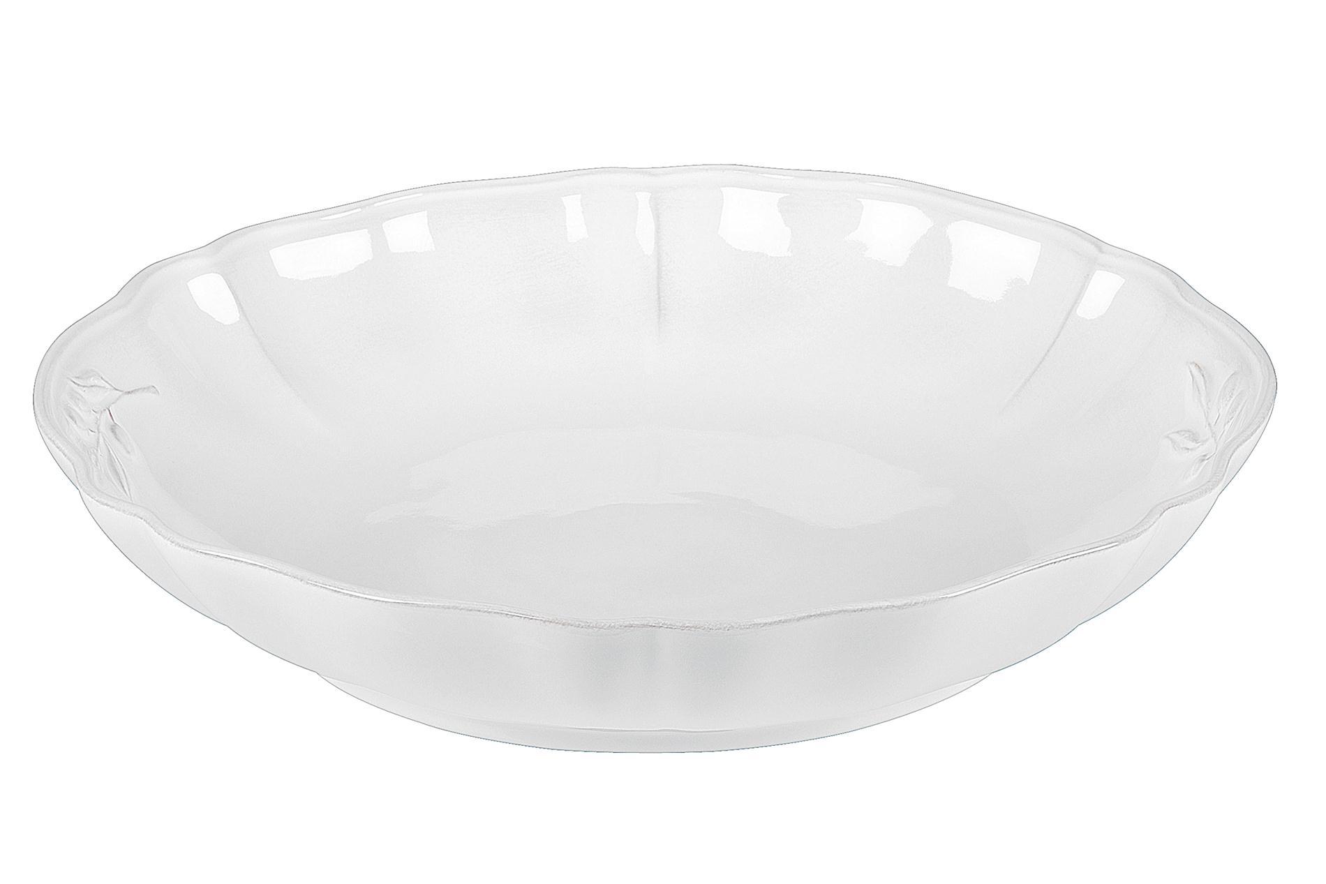 Pastaschüssel  Alentejo, weiß, 34 cm