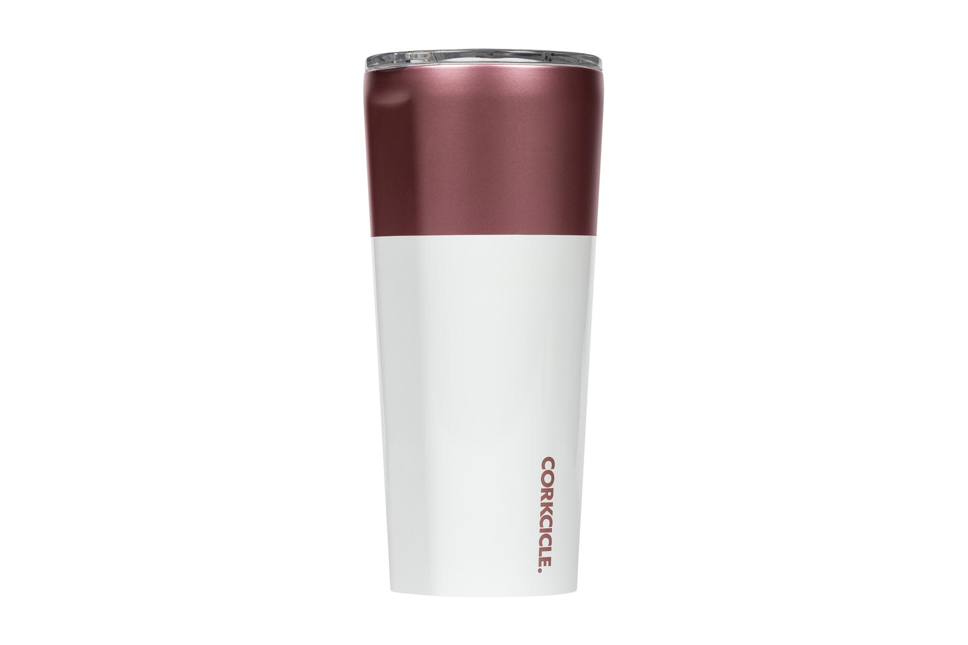 Corkcicle Becher / Thermo Isolierbecher Rosé 475 ml Color Block