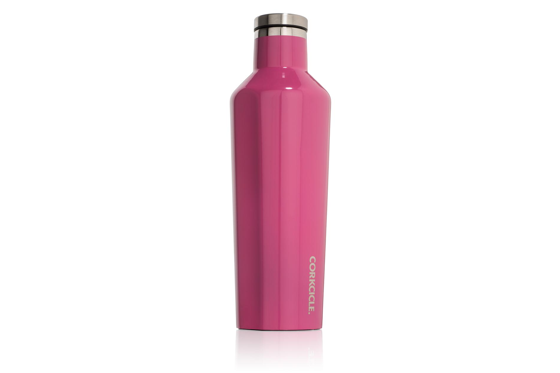 Corkcicle Trinkflasche / Thermo Isolierflasche Gloss Pink 475 ml Gloss