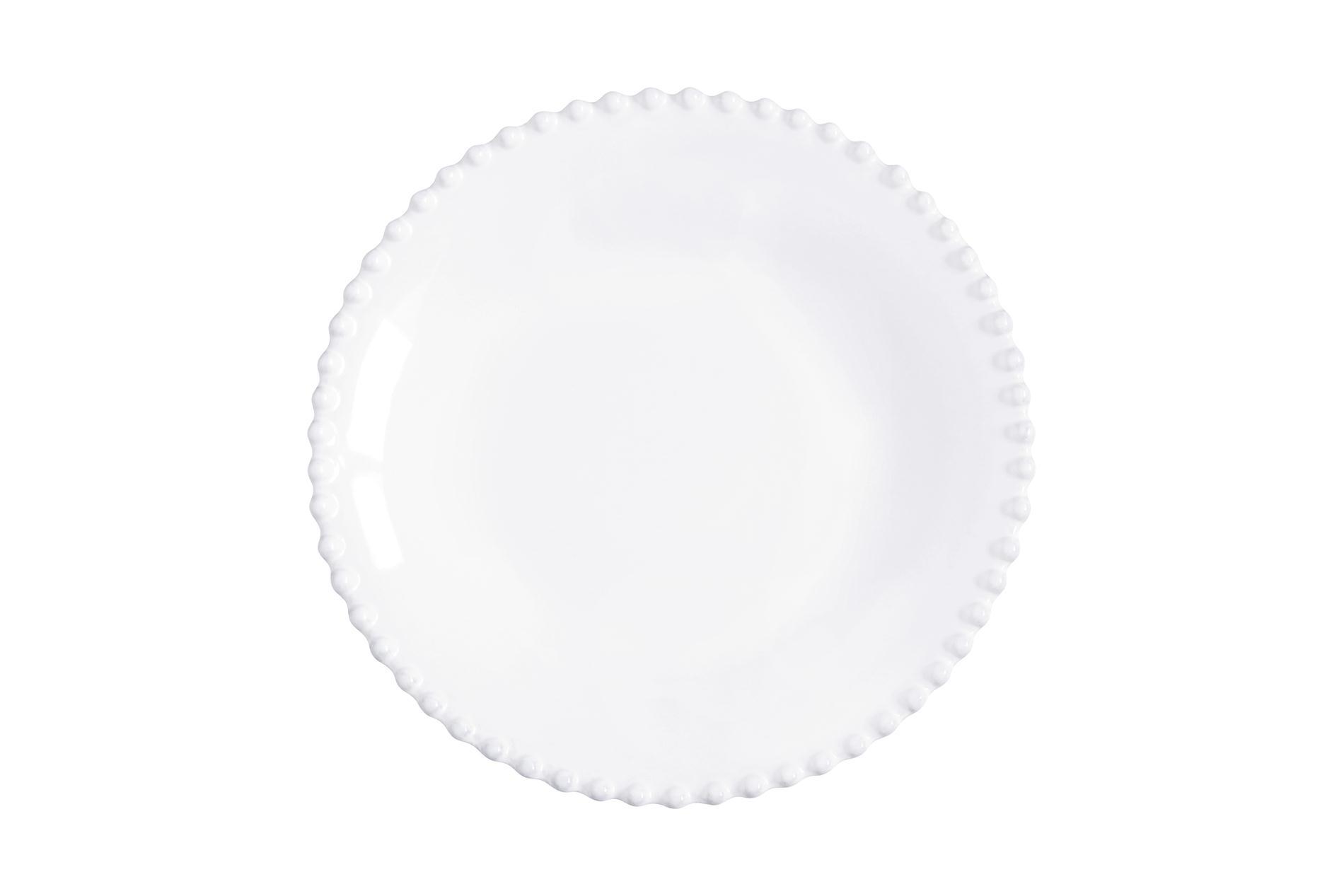 Suppenteller Pearl weiß, 24 cm