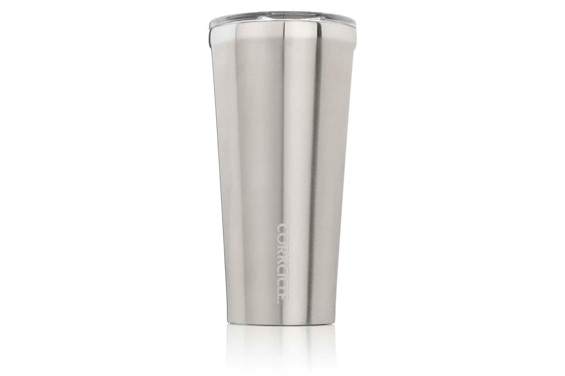 Corkcicle Becher / Thermo Isolierbecher Brushed steel 475 ml Metallic