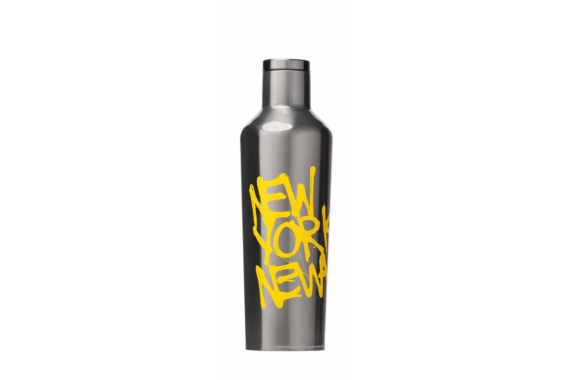Corkcicle Trinkflasche / Thermo Isolierflasche New York New Wave 475 ml Basquiat