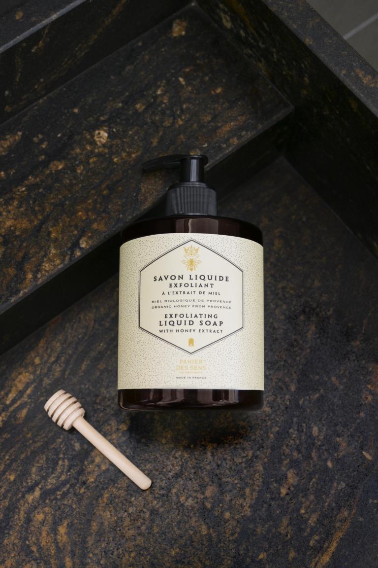 Panier des Sens Flüssigseifen Peeling Honig, 500 ml
