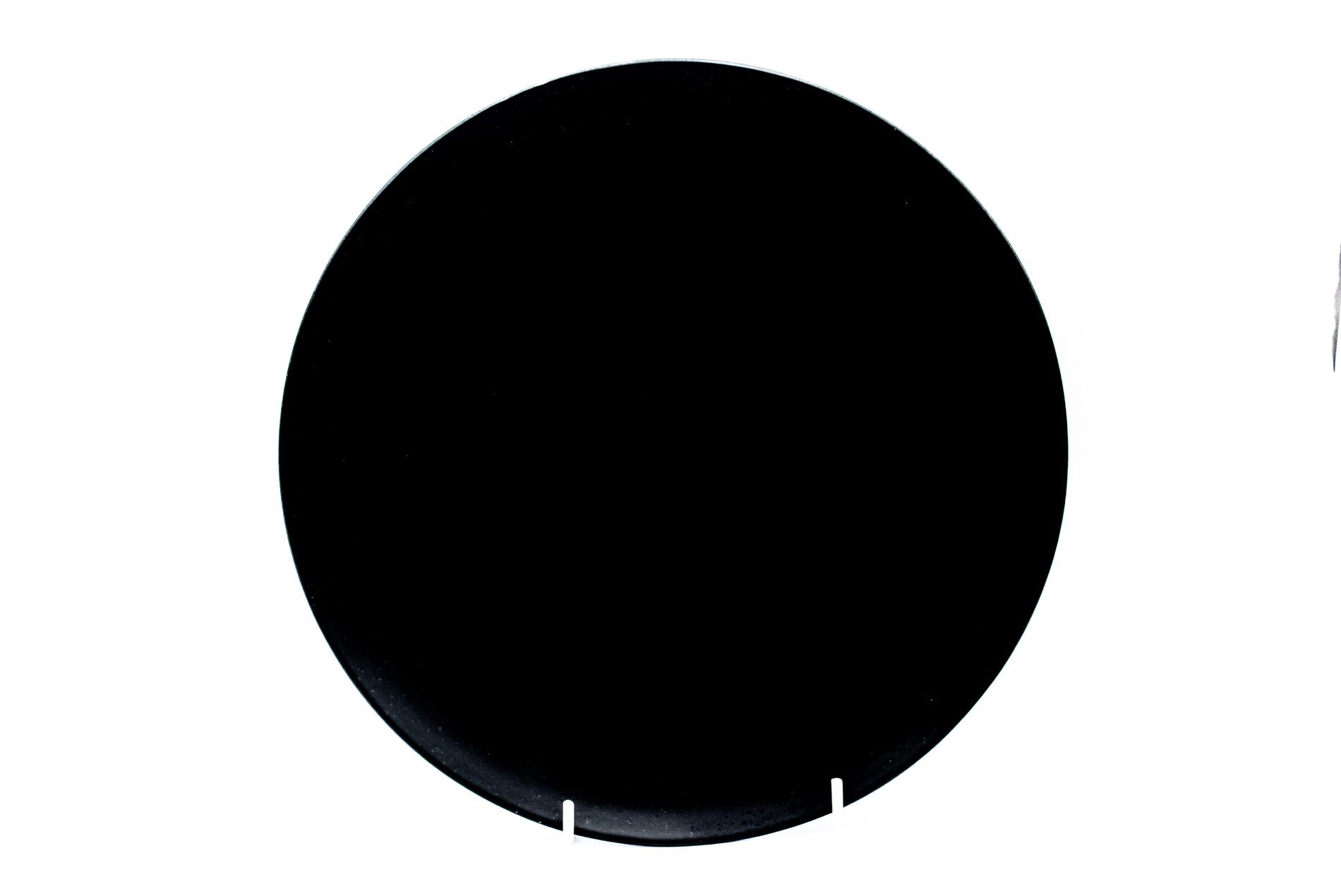 Speiseteller Riviera, schwarz, 27 cm