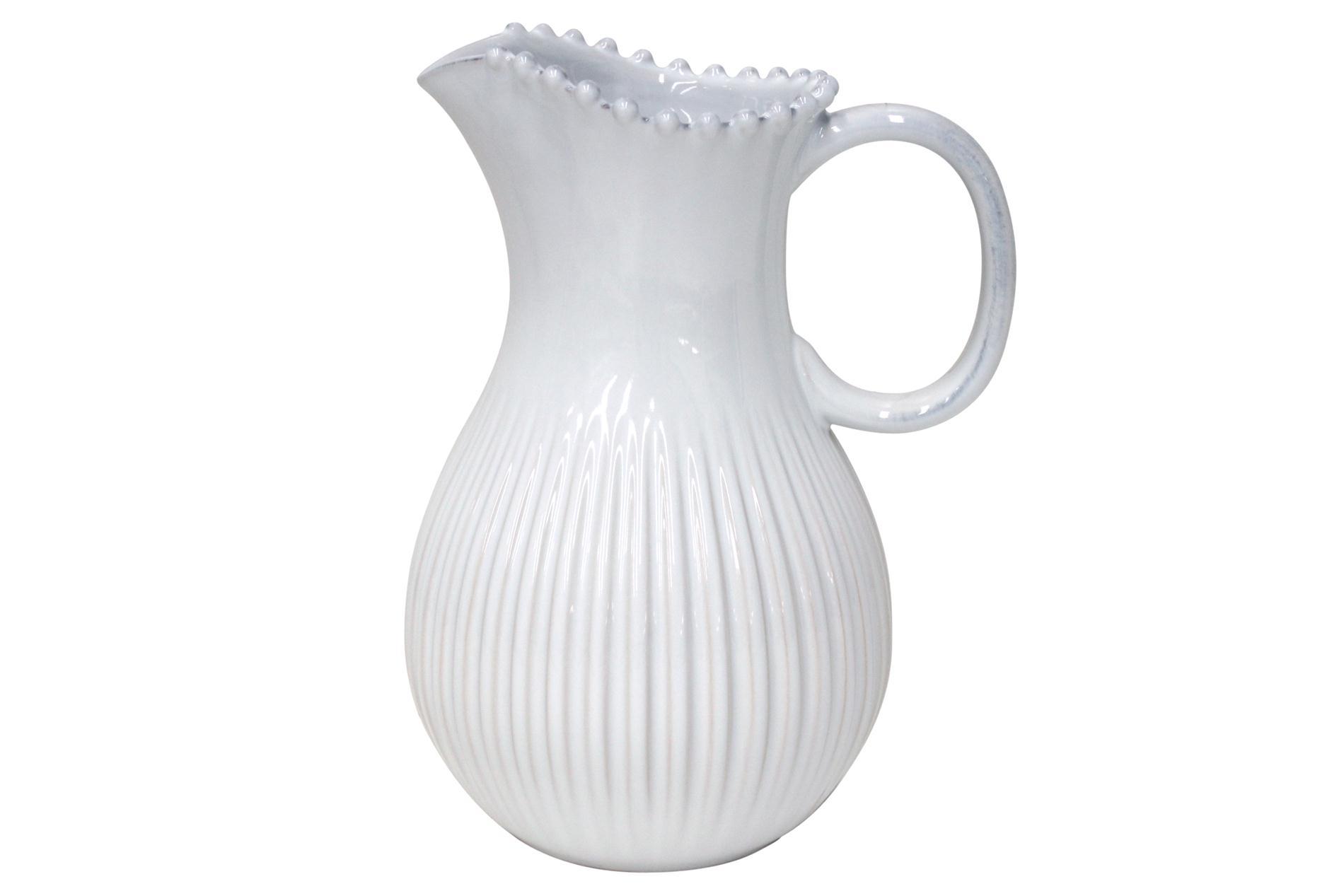 Krug Pearl weiß, 2,9 l