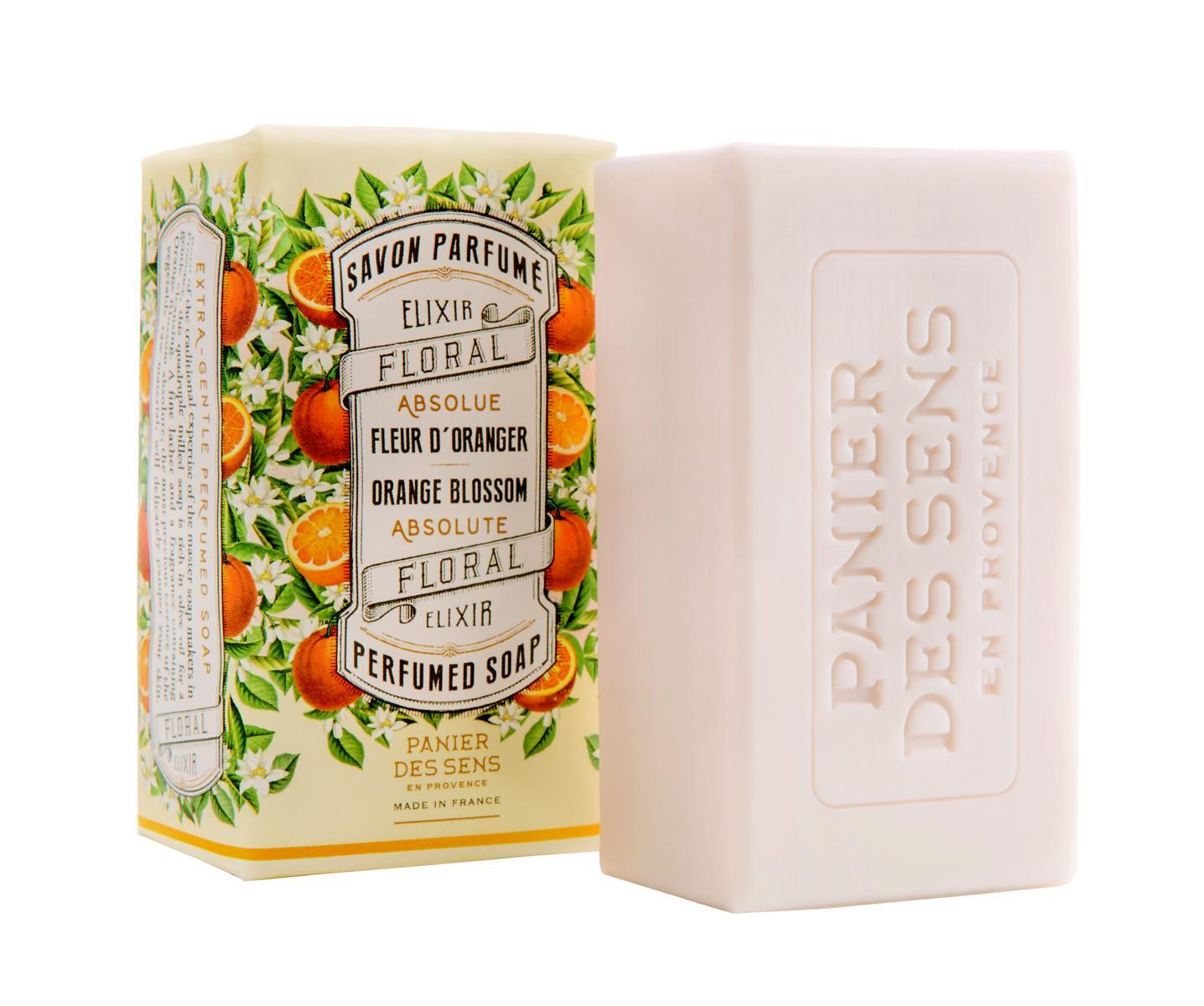 Panier des Sens Extra-sanfte Seife 150 g Orangenblüte