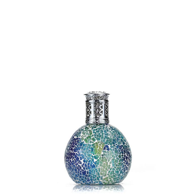 ASHLEIGH & BURWOOD Duftlampe, Mosaik Ocean, blau, ohne Raumduft, katalytische Raumbeduftung