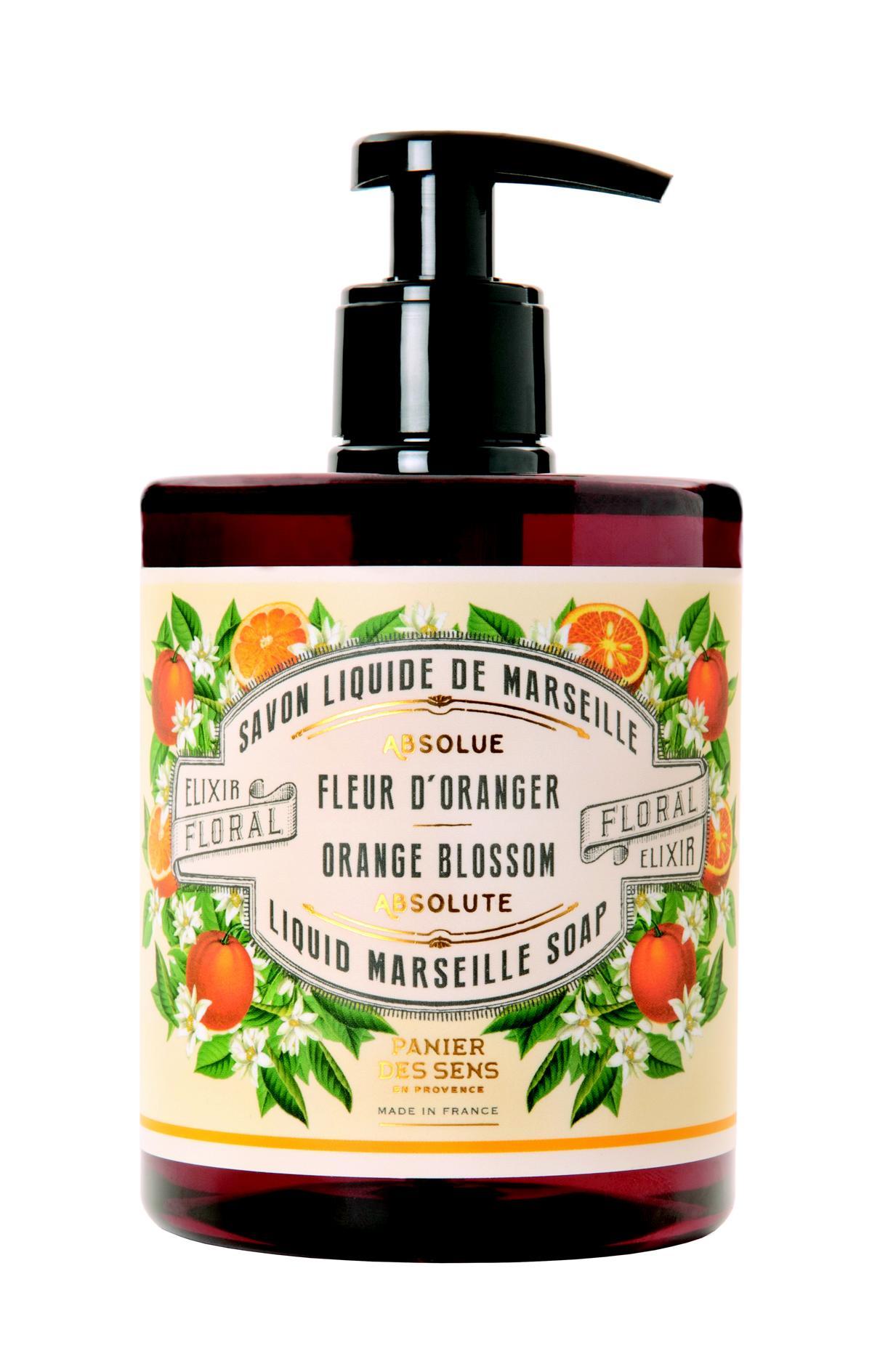 Panier des Sens Flüssigseife aus Marseille 500 ml Orangenblüte