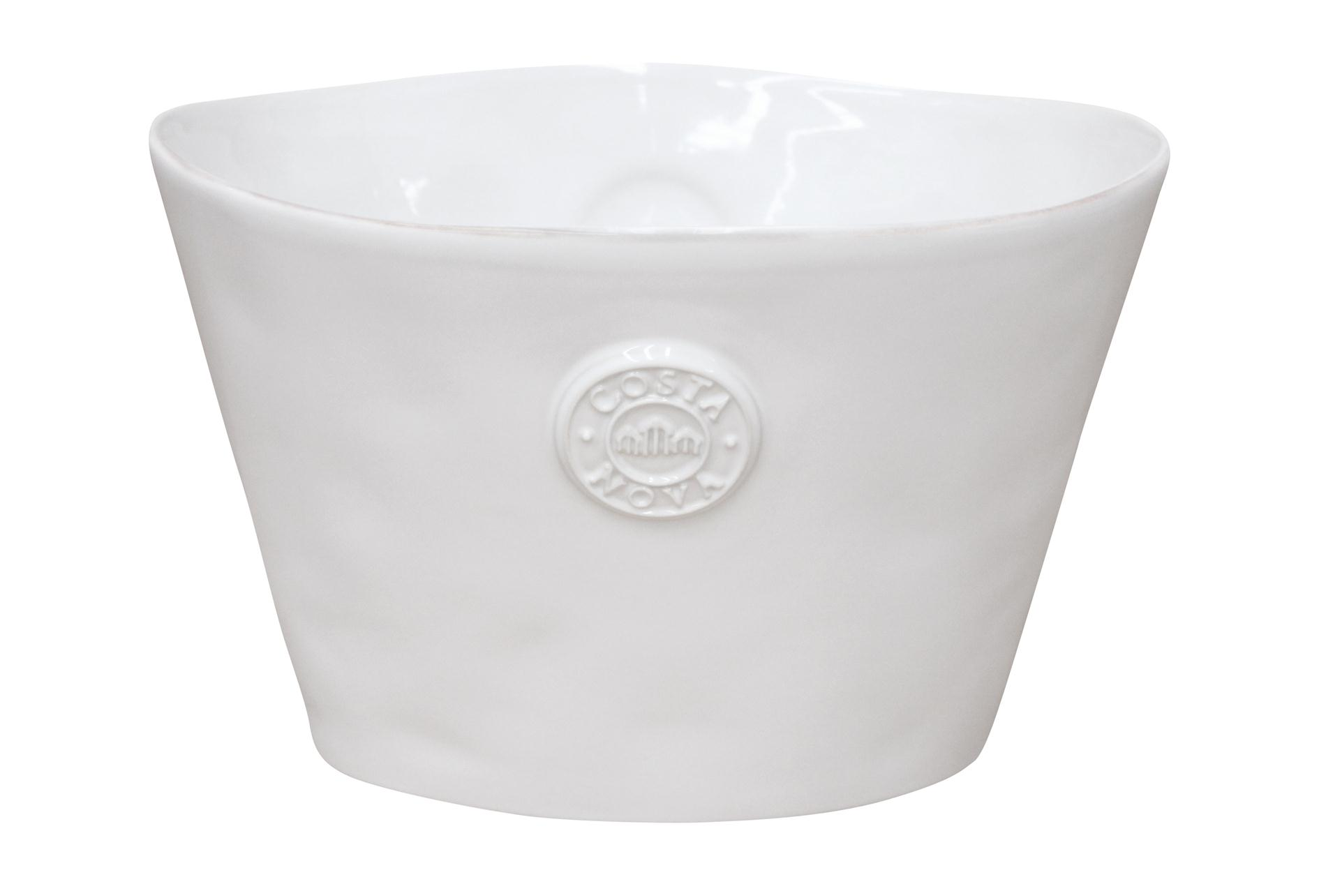 Costa Nova, Champagnerkühler/ Partybucket, Nova, weiß, 32 cm