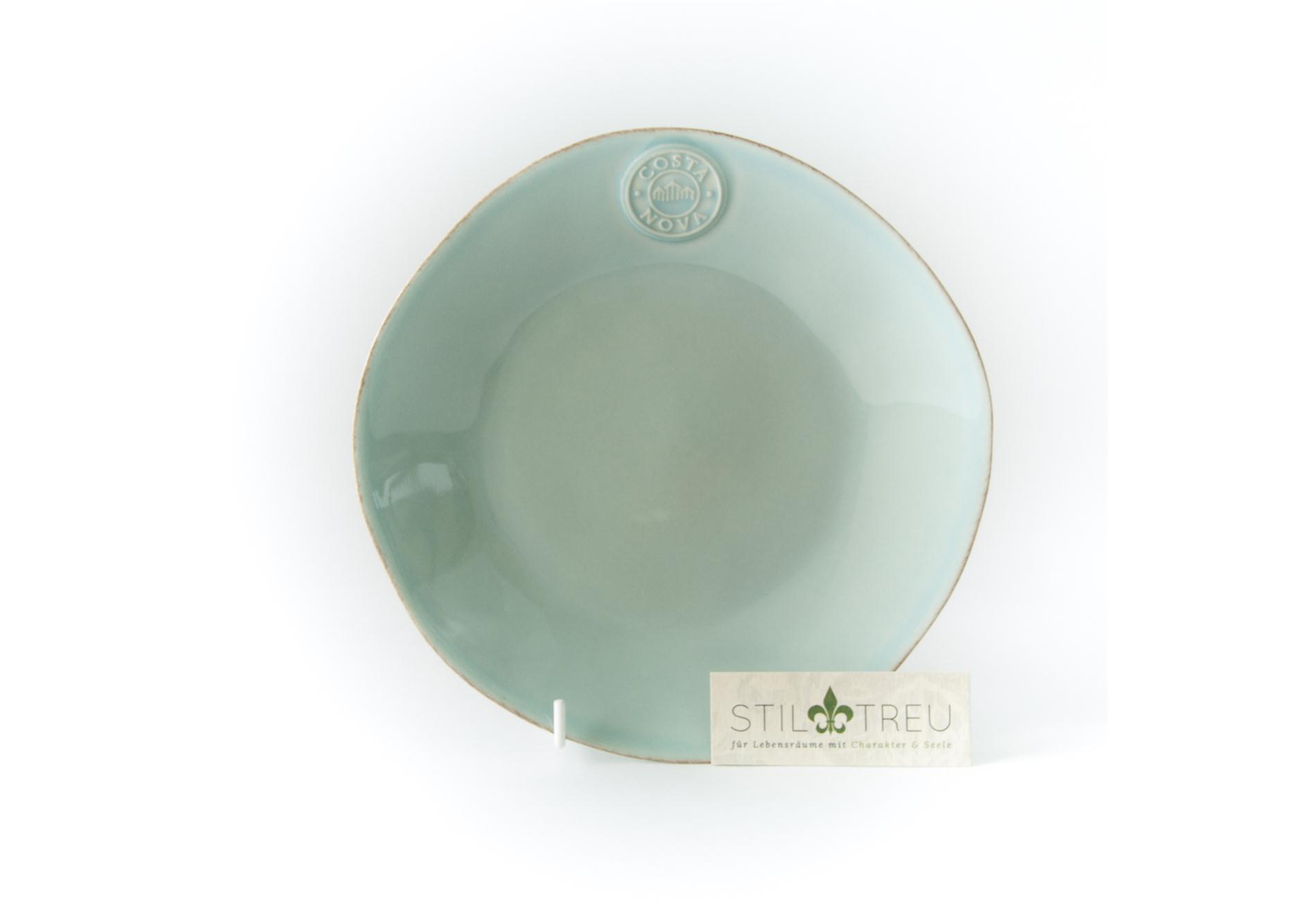 Costa Nova, Kuchenteller / Dessertteller / Salatteller, Nova, türkis, 21 cm