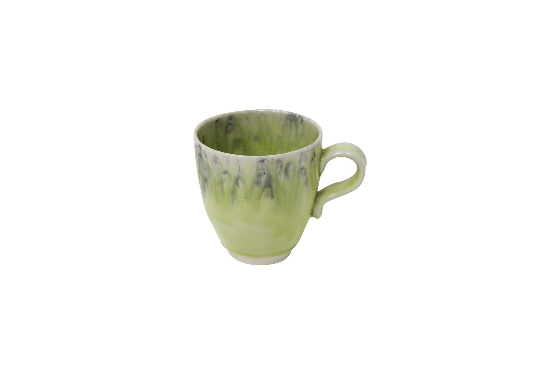 Becher, Madeira, grün, 0,4 l
