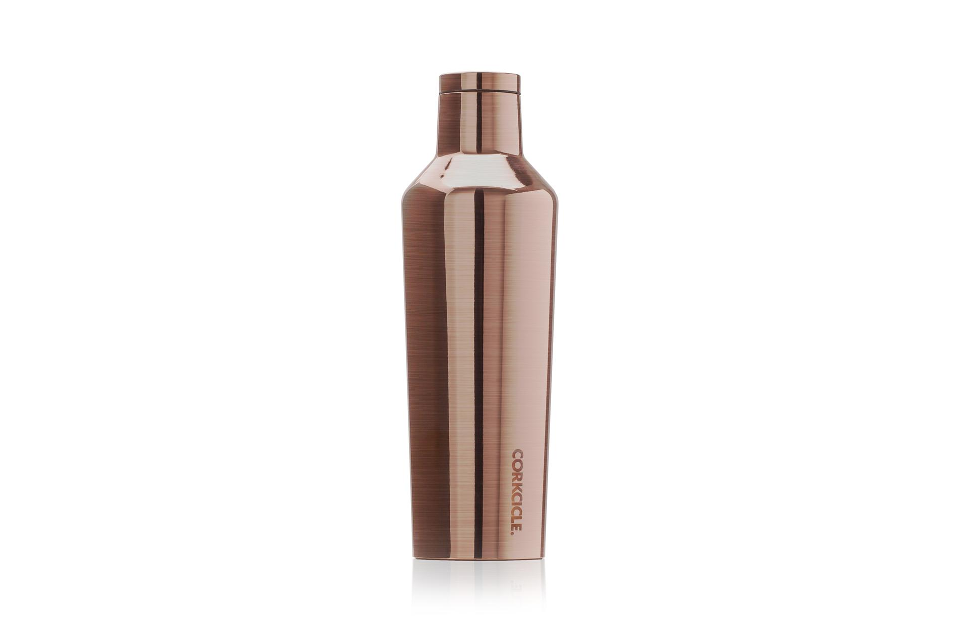 Corkcicle Trinkflasche / Thermo Isolierflasche Copper 475 ml Metallic