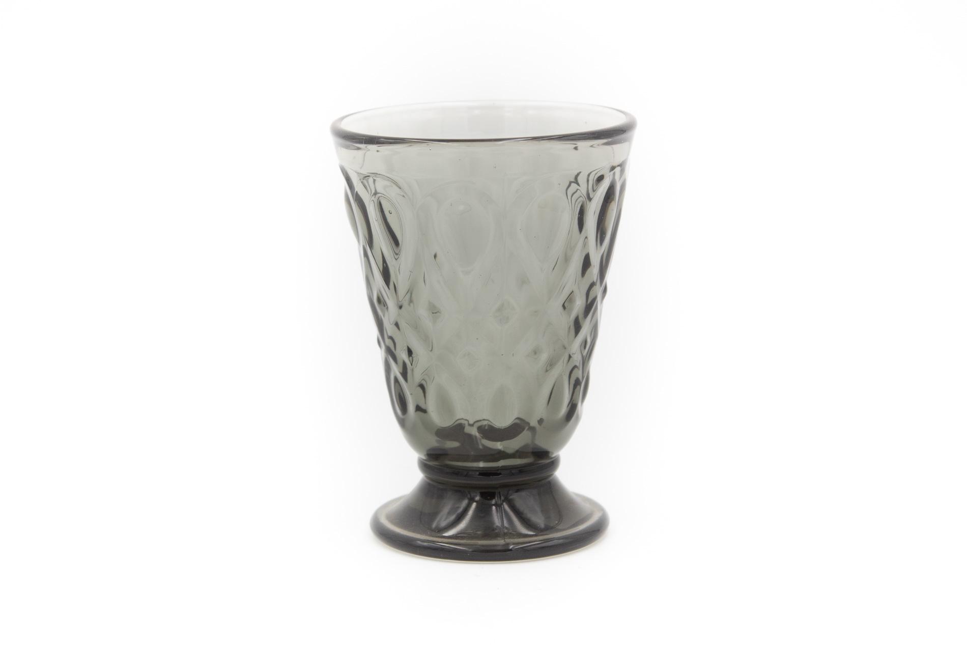 Wasserglas schwarz Lyon, 0,2 l
