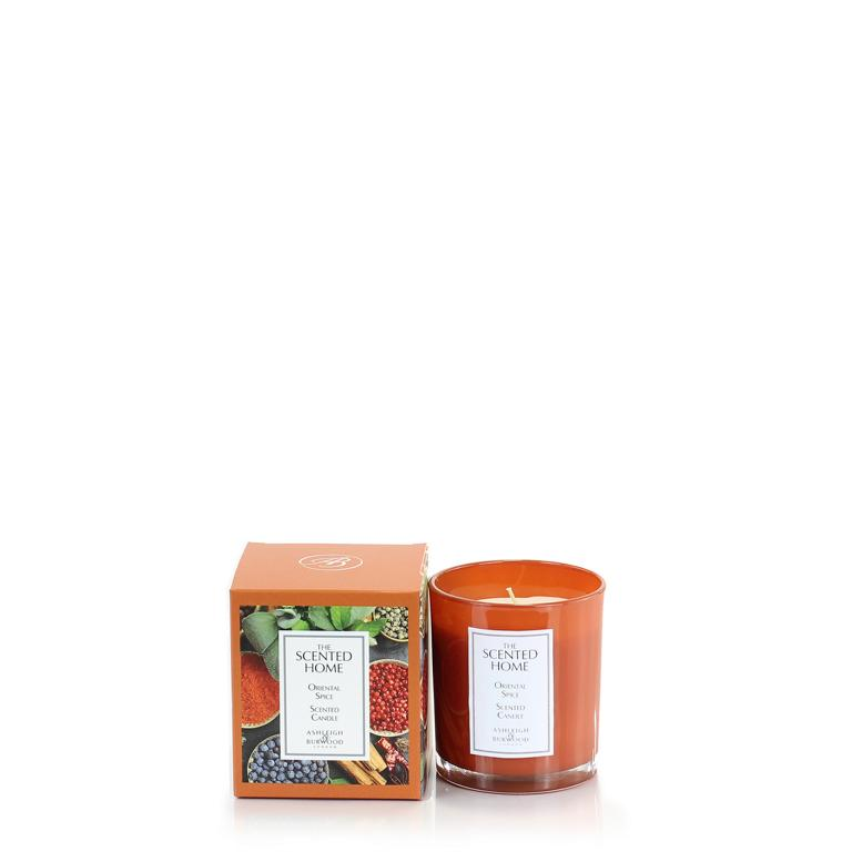 ASHLEIGH & BURWOOD Duftkerze, Oriental Spice, Brenndauer ca. 42 Stunden, 225g