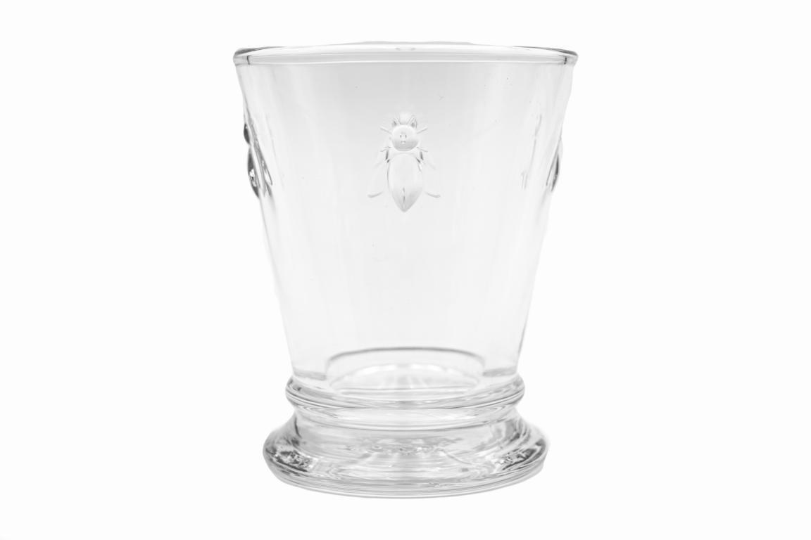 Wasserglas/Trinkglas, klein, Biene, 0,18 l