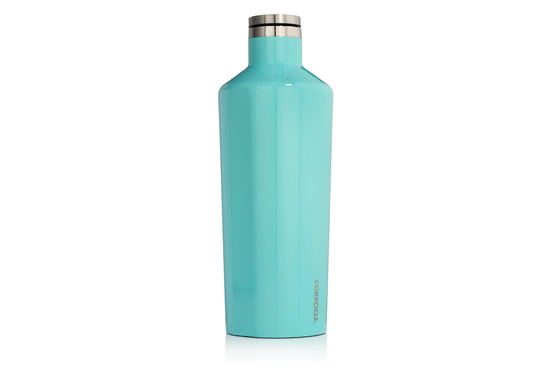 Corkcicle Trinkflasche / Thermo Isolierflasche Gloss Turquoise 1775 ml Classic