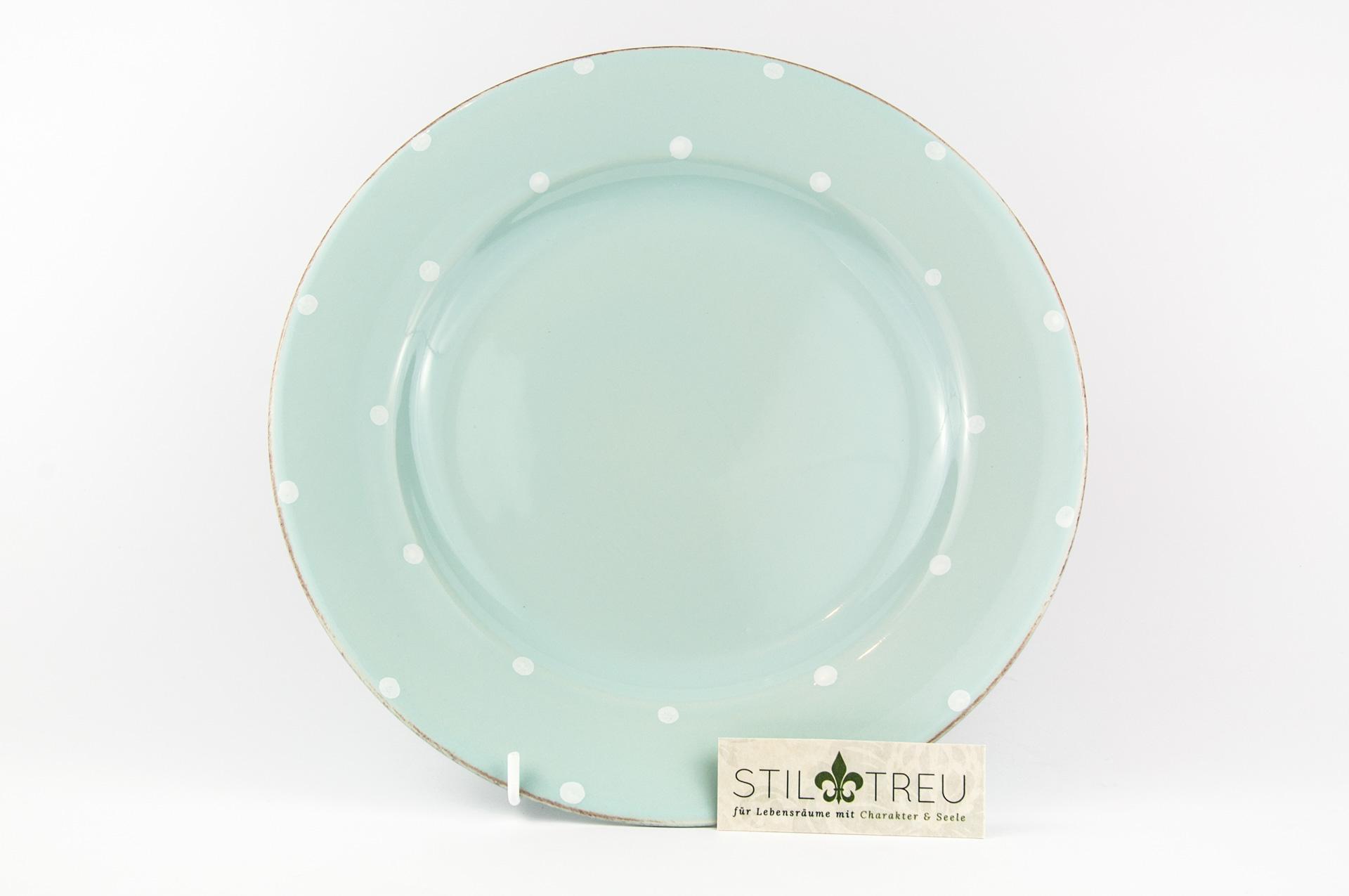 Speiseteller Chitra, blau, 28 cm