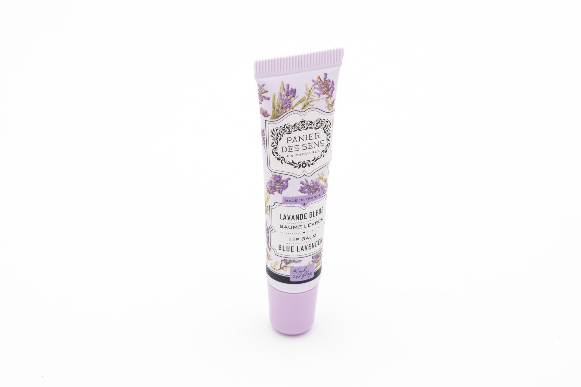 Panier des Sens Lip Balm/ Lippenbalsam Lavendel, Blue Lavender, 15 ml