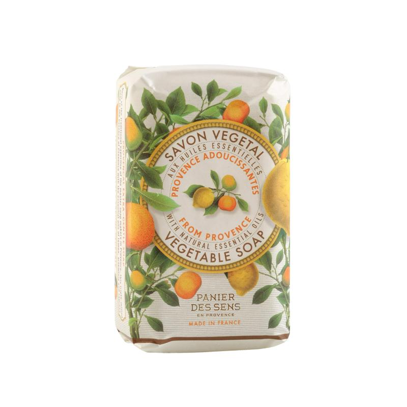 Panier des Sens Extra-sanfte Seife Provence, pflanzlich, 150g