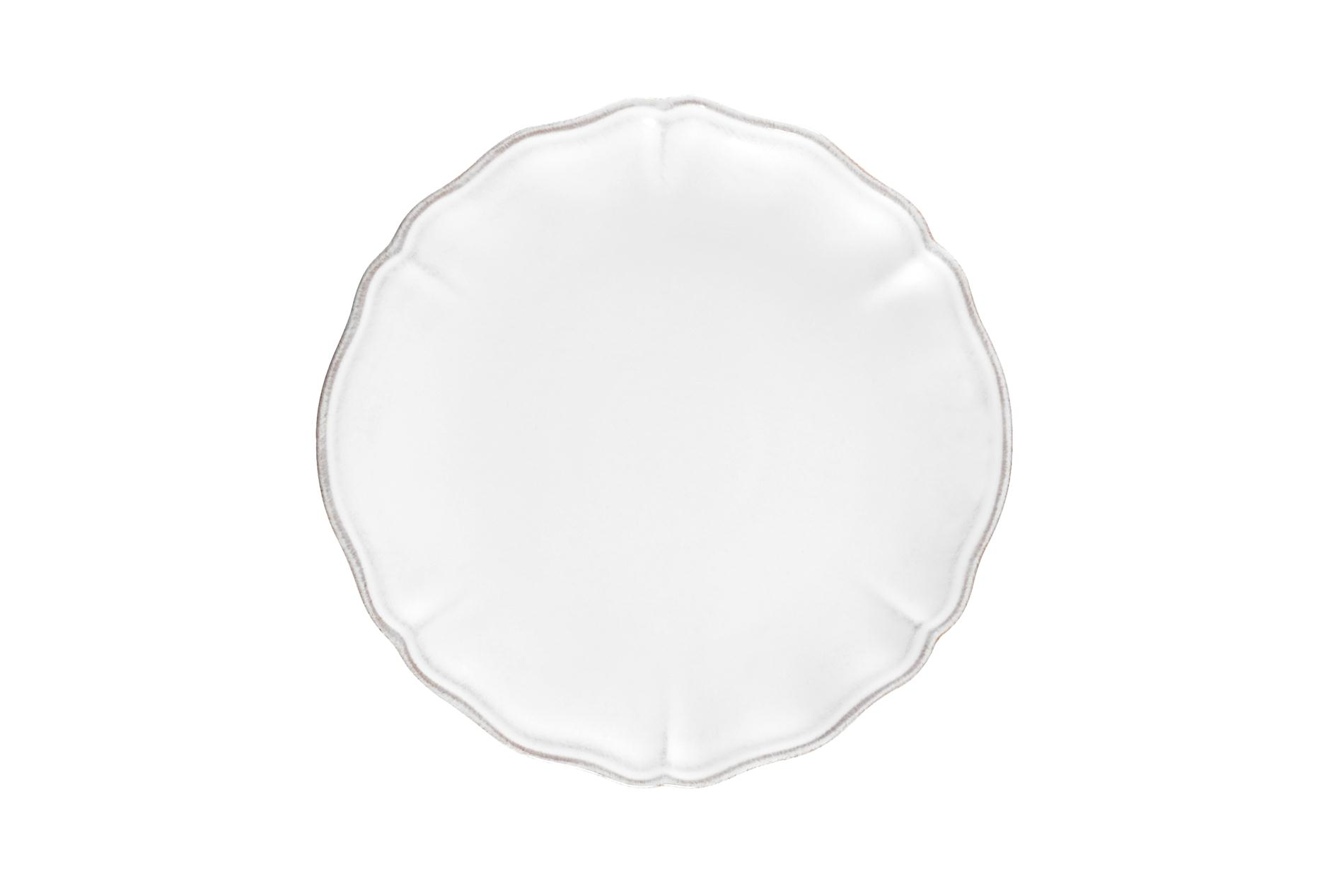 Kuchenteller / Dessertteller  / Salatteller Tejo, weiß, 21 cm