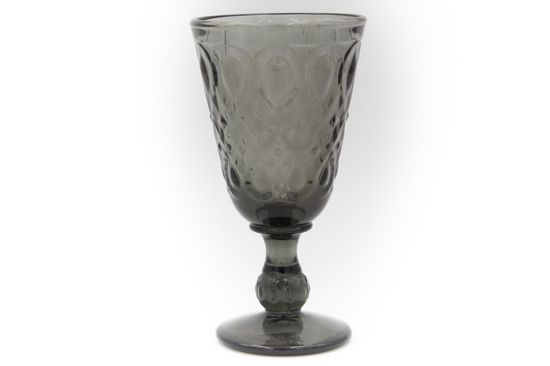Weinglas schwarz Lyon, 0,2 l