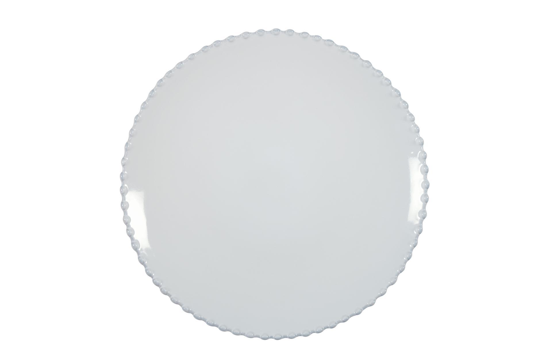 Speiseteller Pearl weiß, 28 cm