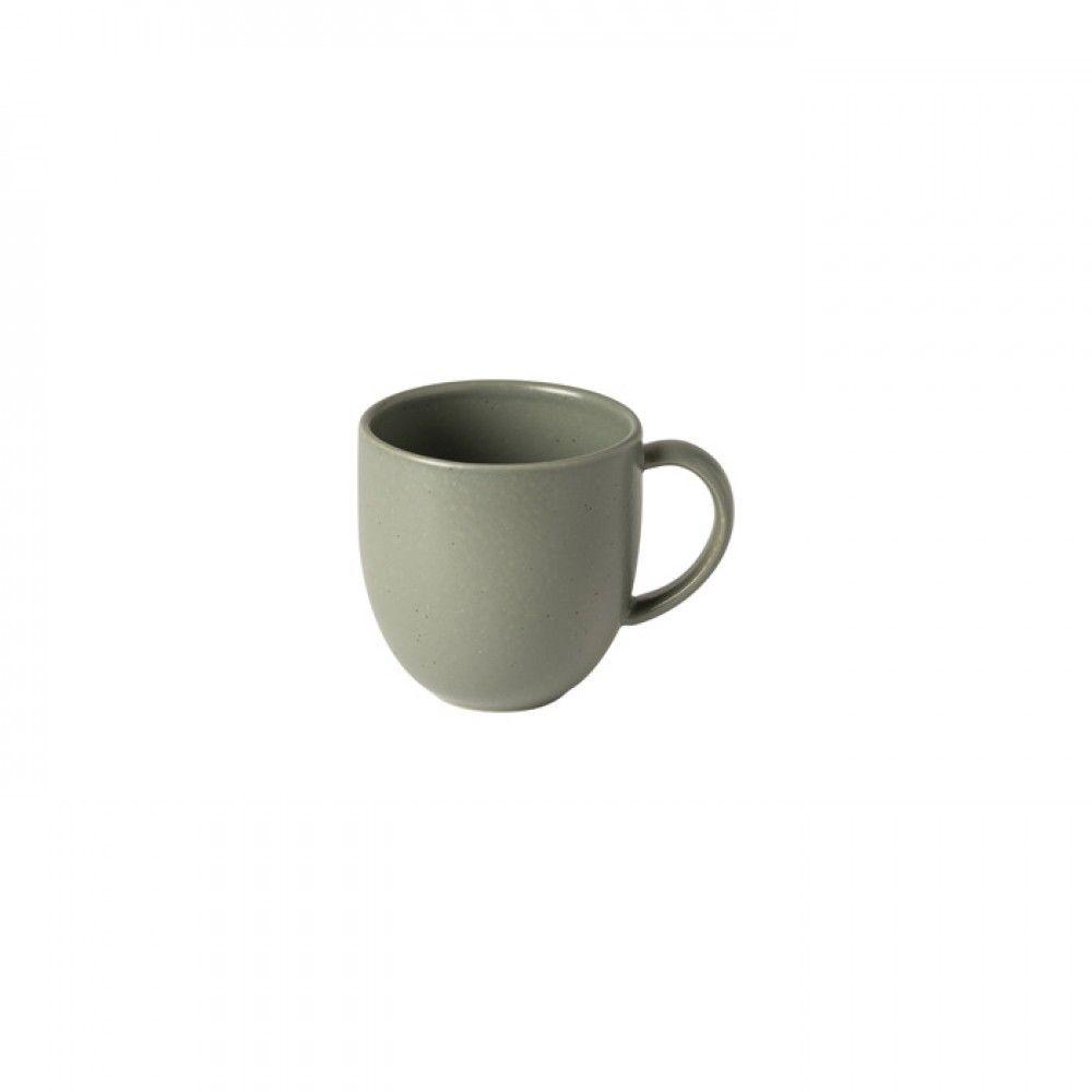 Casafina Pacifica Becher, grau grün/artischocke, 12x 8,8x 9cm, 0,33 L