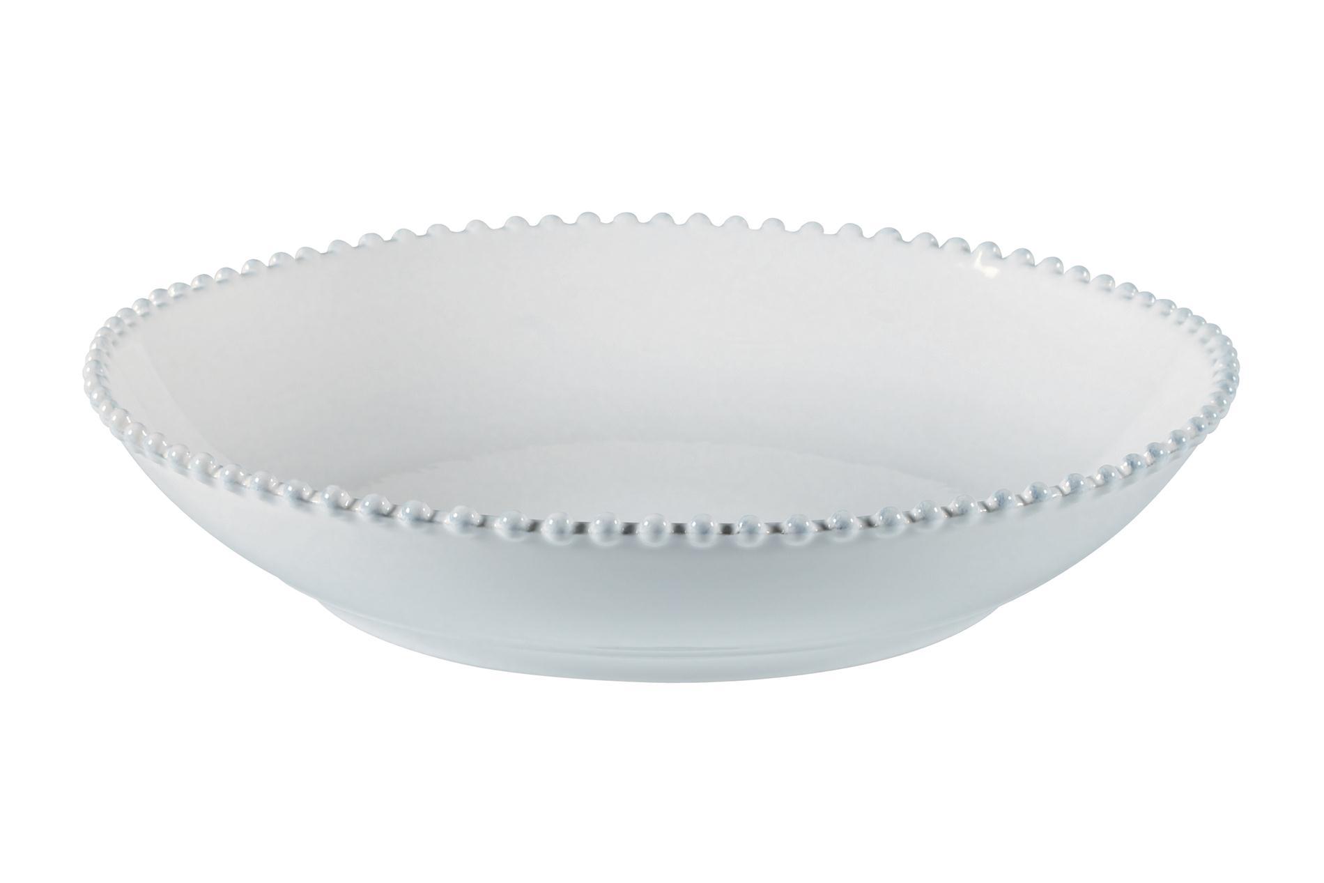 Pastaschale/Pastaschüssel Pearl weiß, 34 cm